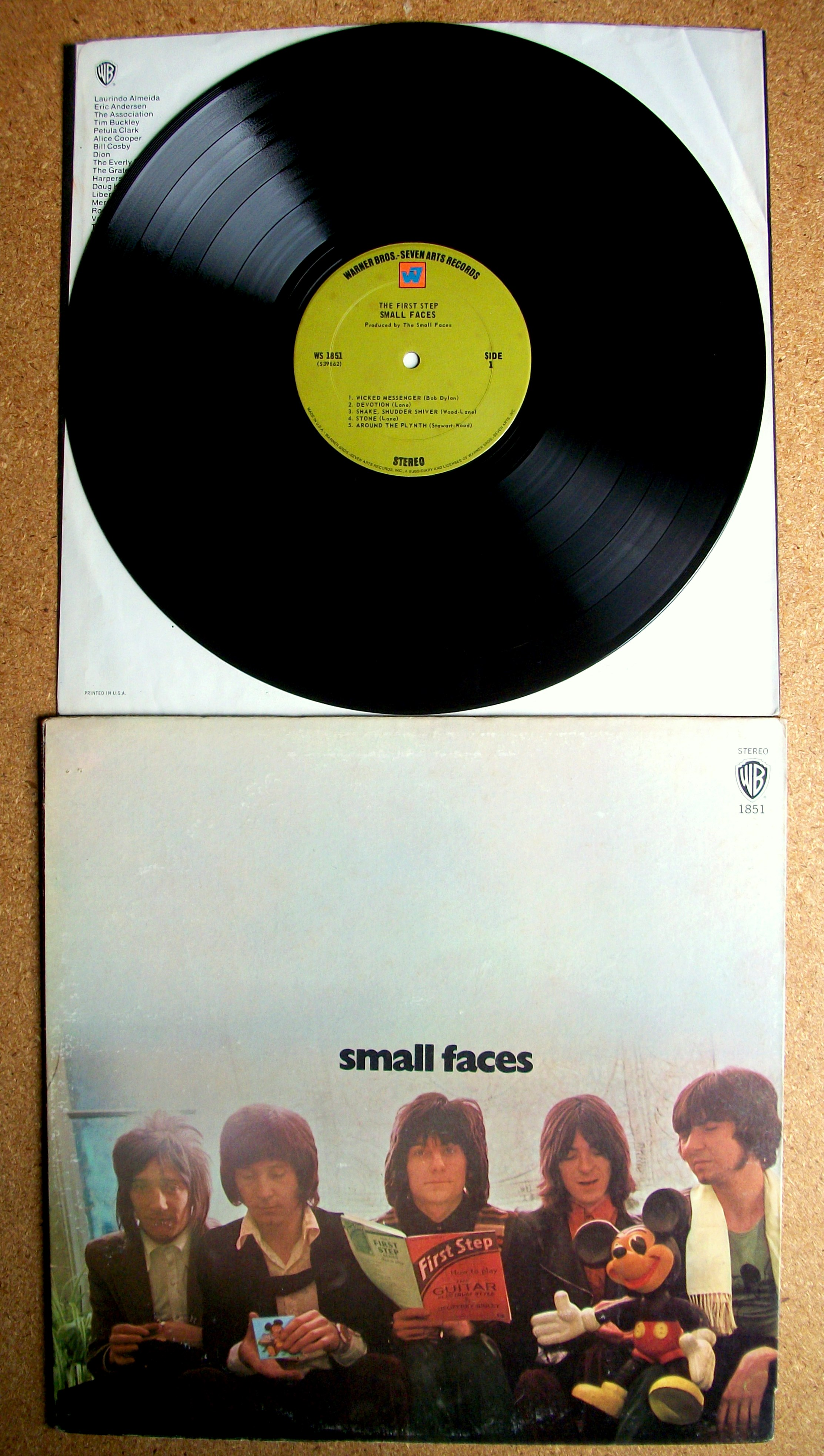 Sinister Vinyl Collection Faces First Step 1970