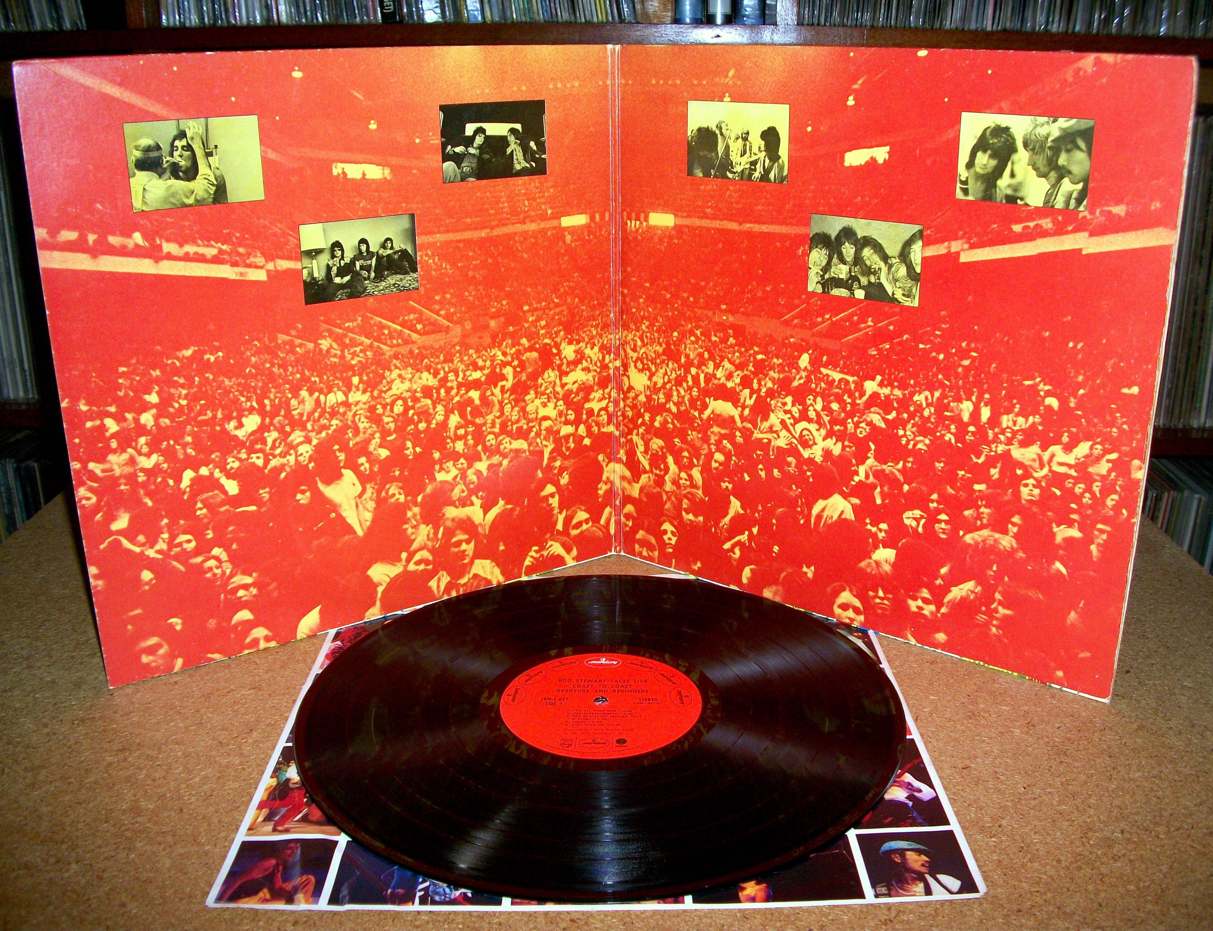 Sinister Vinyl Collection Rod Stewart Amp Faces Live Coast