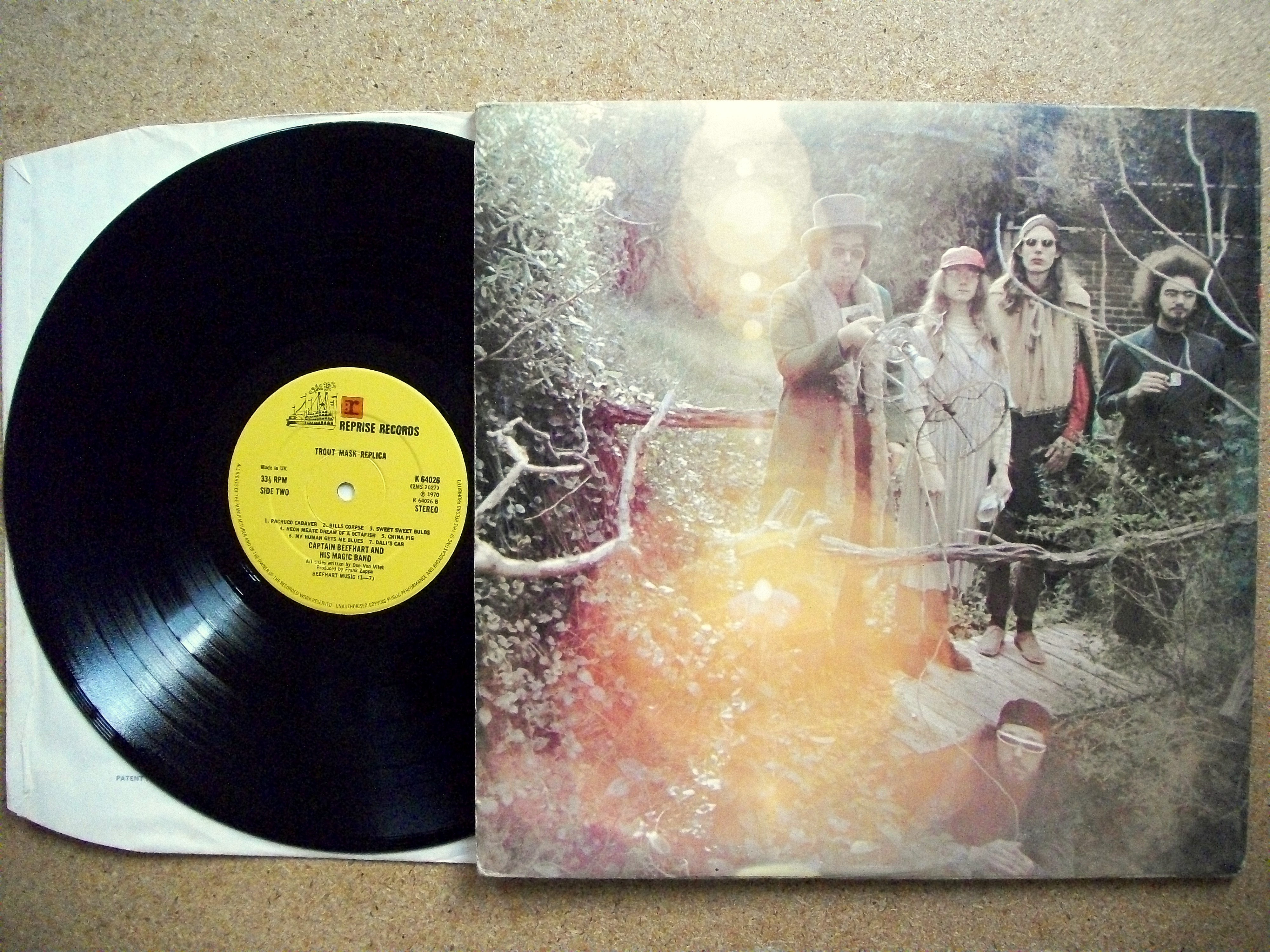 Sinister Vinyl Collection Captain Beefheart Amp His Magic