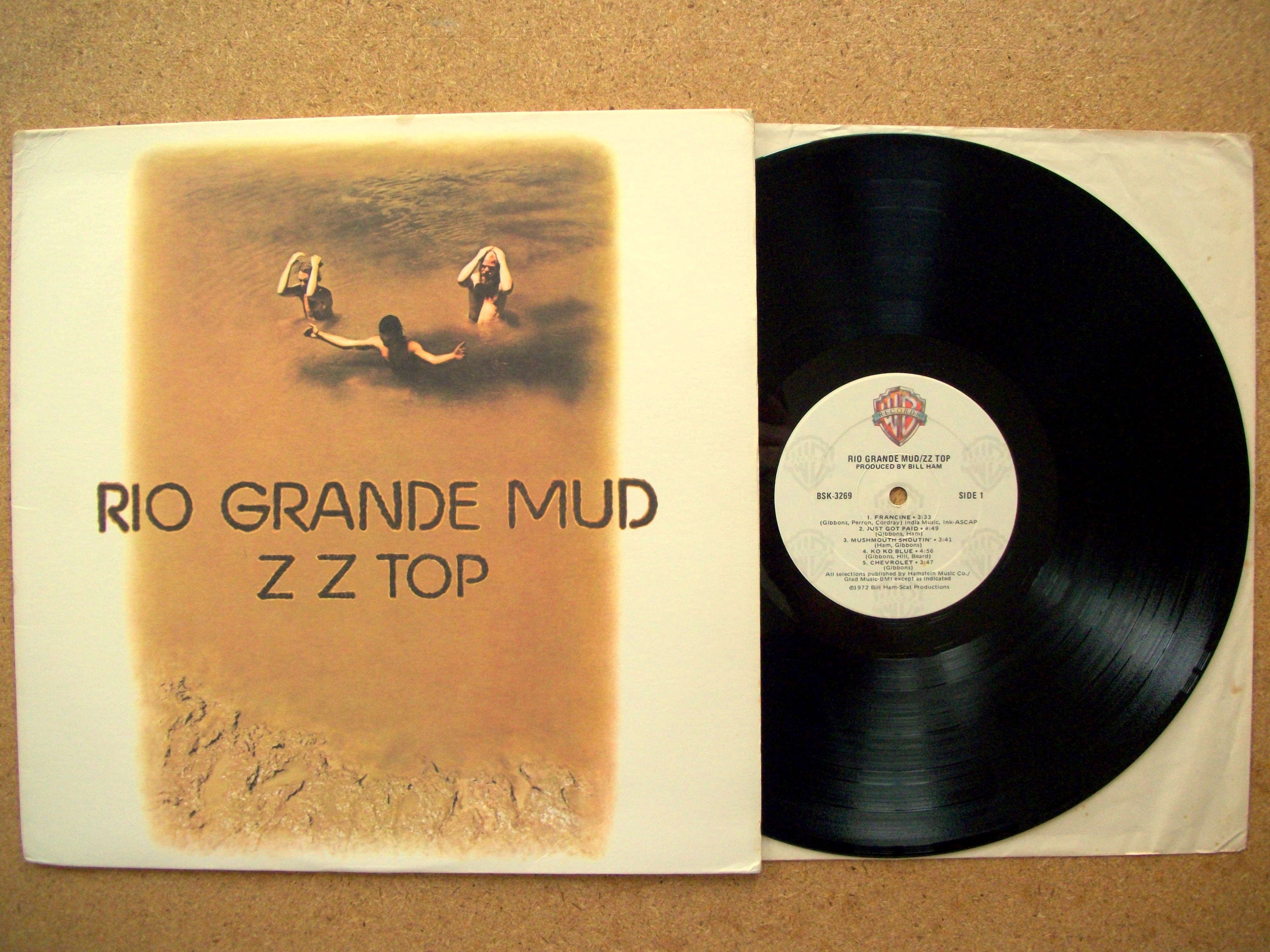 Sinister vinyl collection zz top rio grande mud 1972