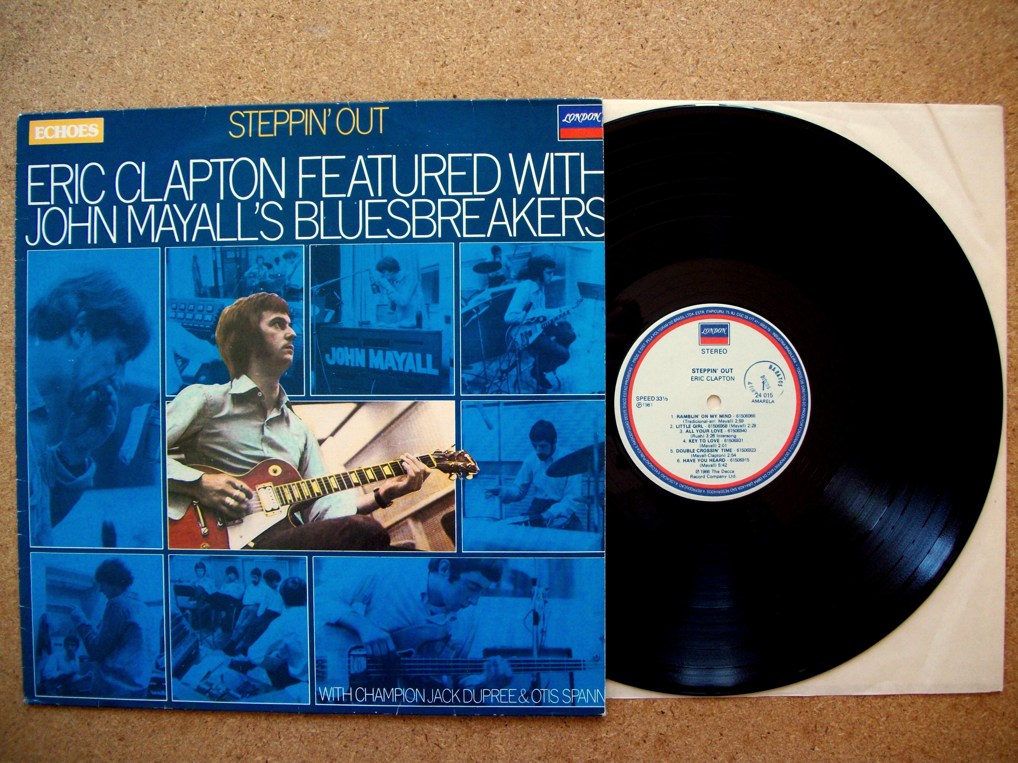 Sinister Vinyl Collection Eric Clapton Amp John Mayall S