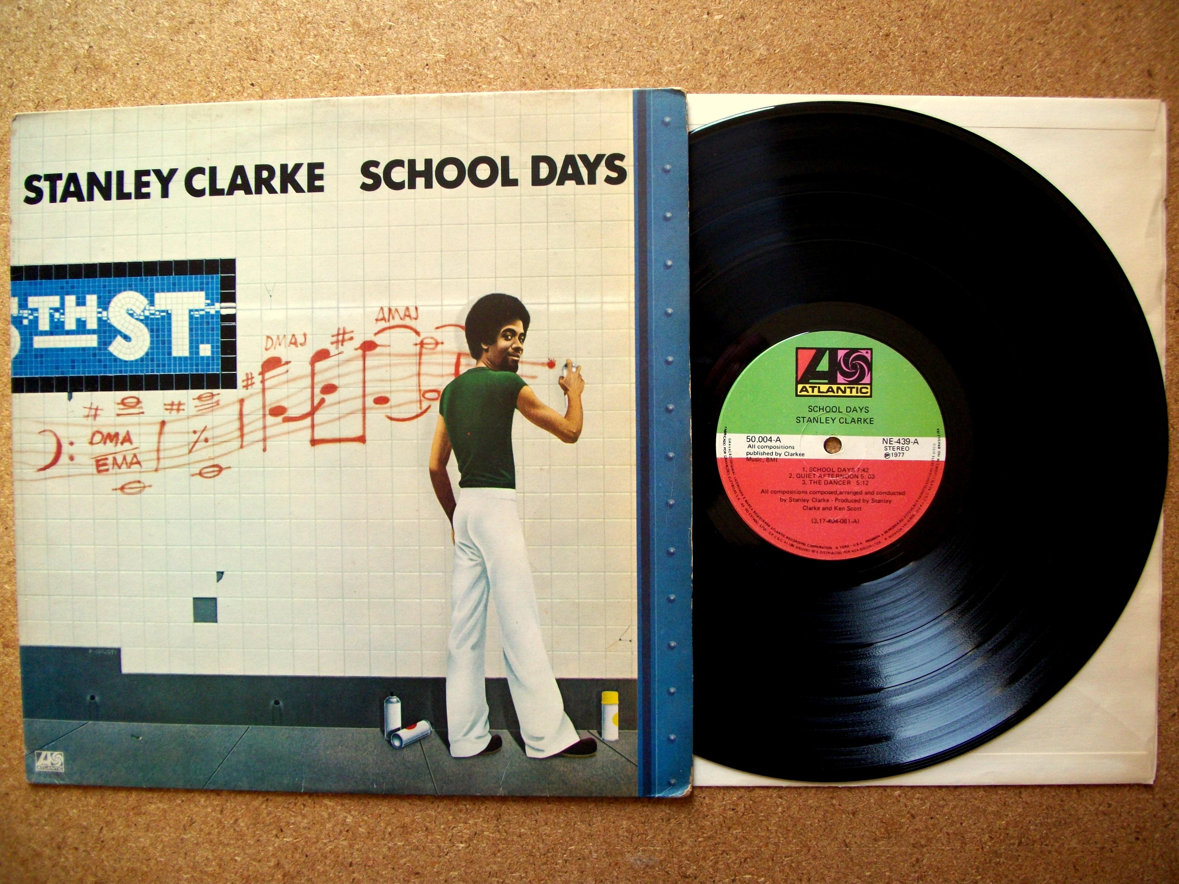 55b75a3357 SINISTER VINYL COLLECTION  STANLEY CLARKE – SCHOOL DAYS (1976 ...
