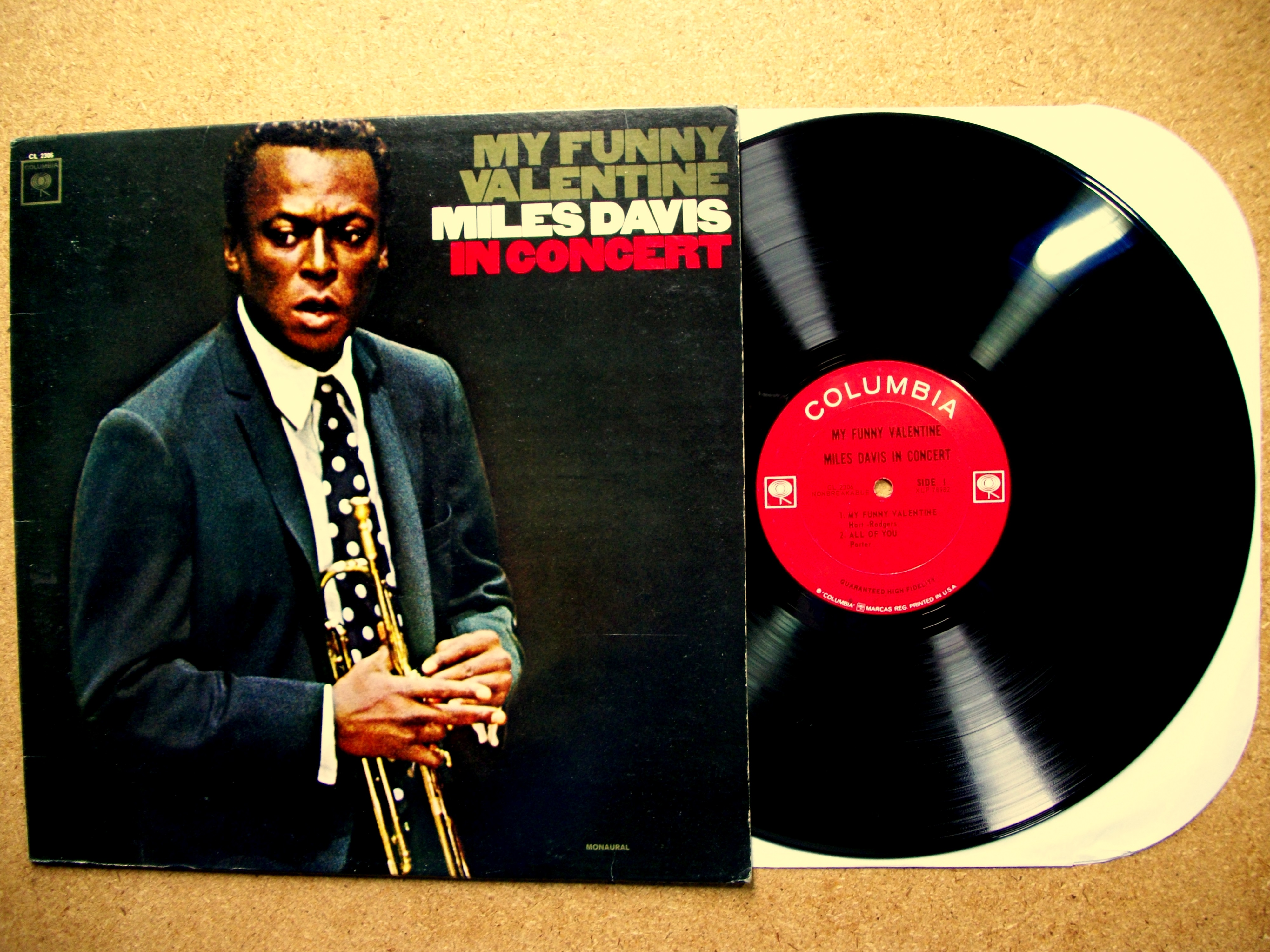SINISTER VINYL COLLECTION: MILES DAVIS U2013 MY FUNNY VALENTINE (1964 U2013 1965)