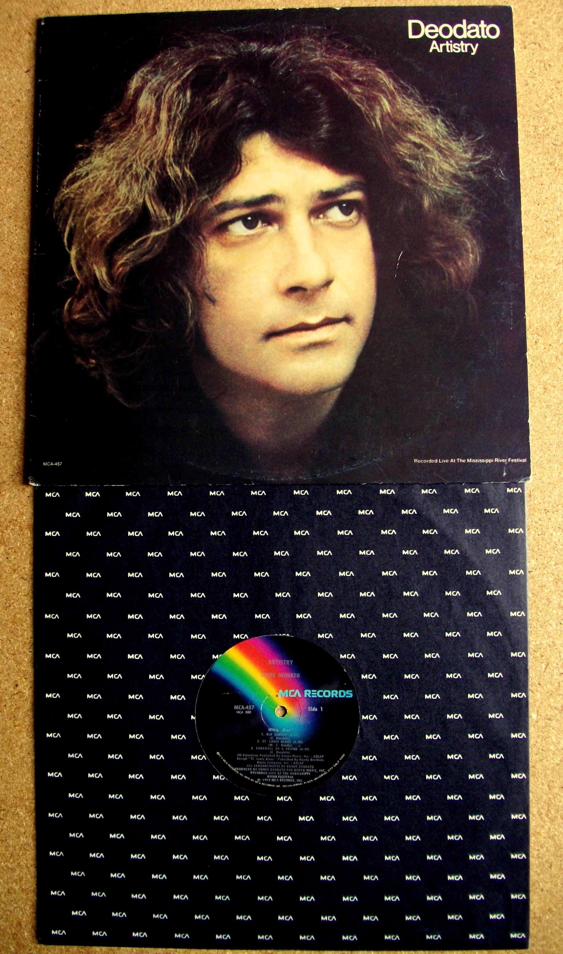 Sinister Vinyl Collection Eumir Deodato Artistry 1974