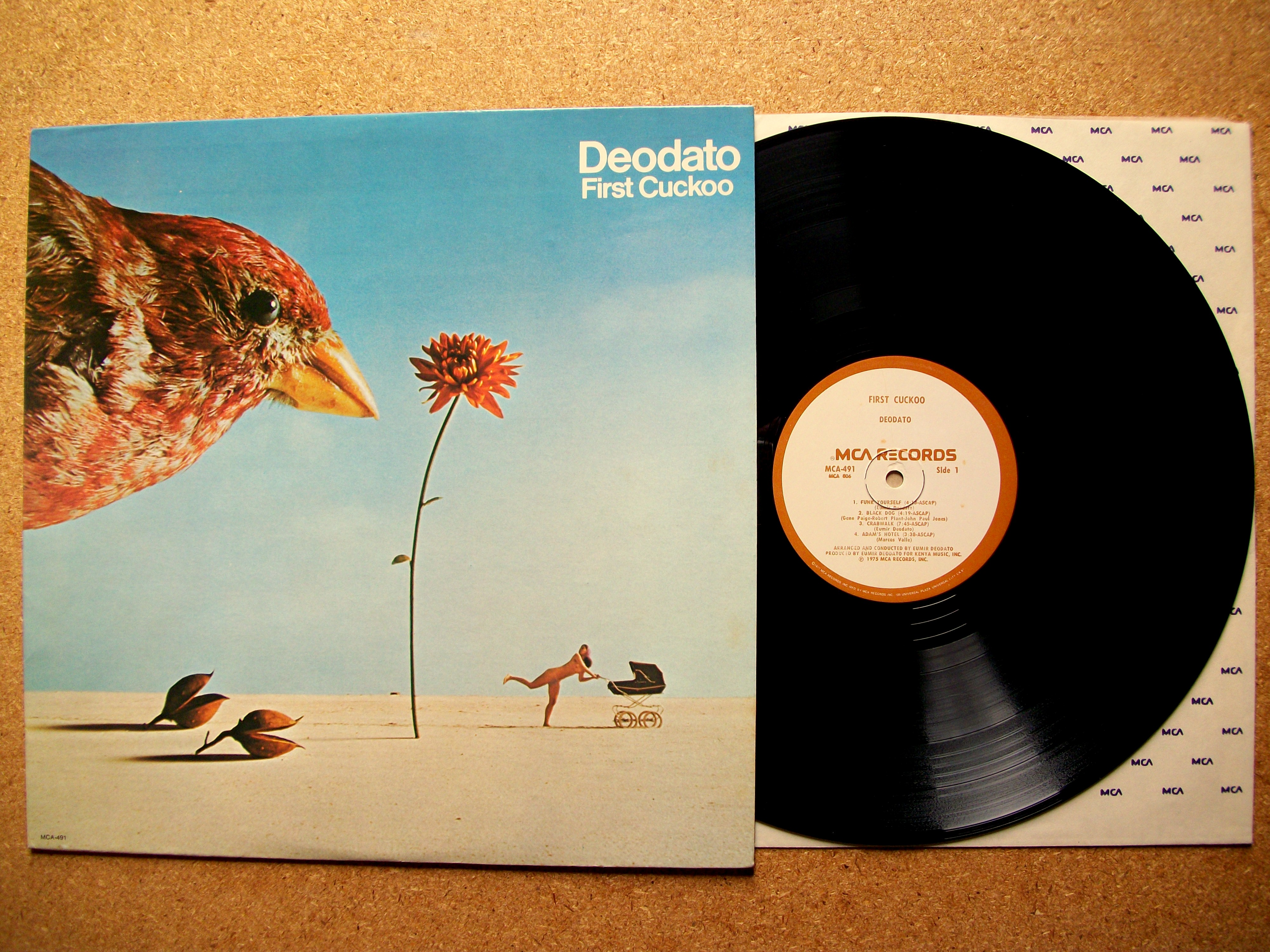 Sinister Vinyl Collection Eumir Deodato First Cuckoo