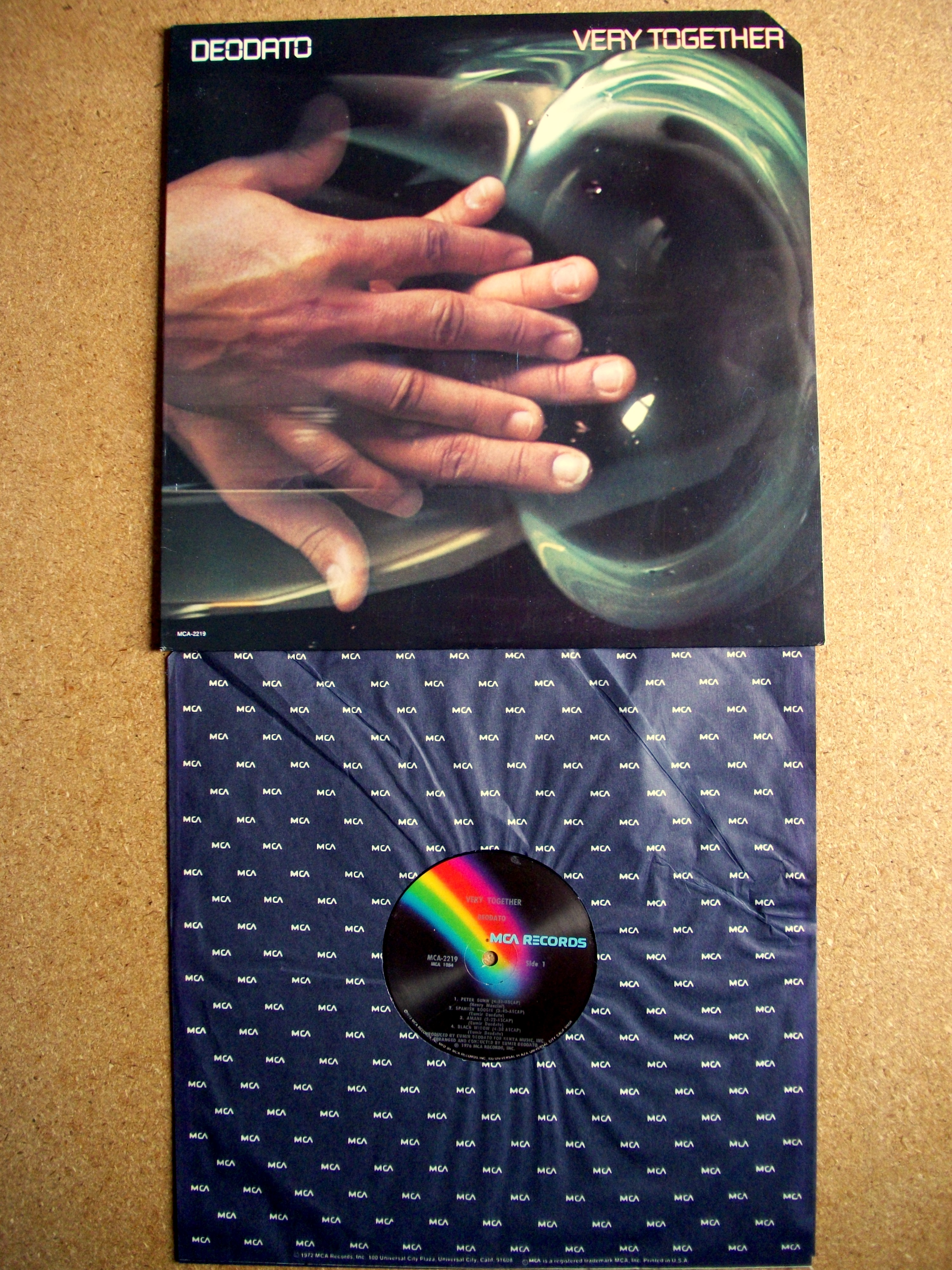 Sinister Vinyl Collection Eumir Deodato Very Together