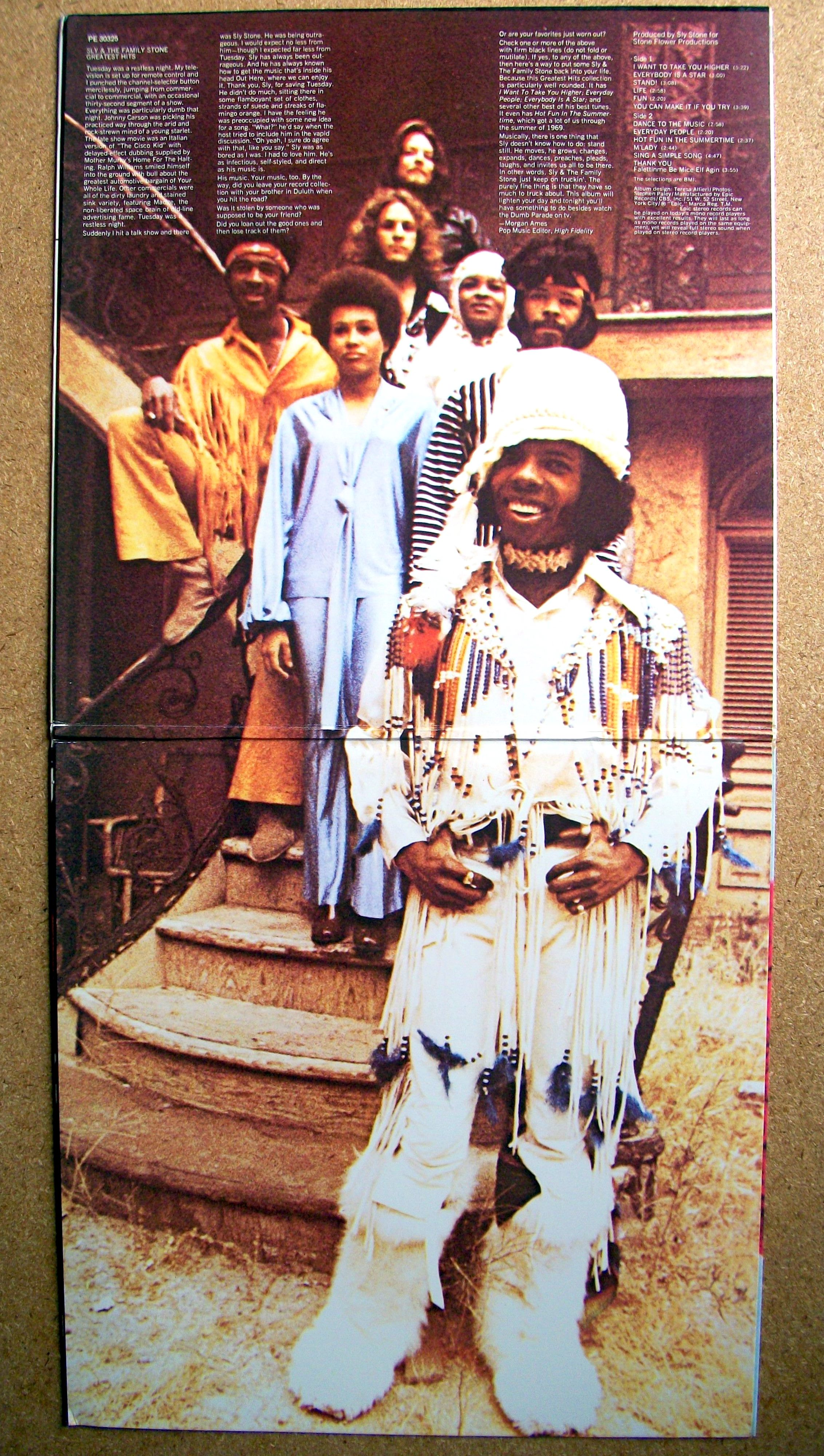 the family stone Sly & the family stone is an american band that fused the sounds of soul and funk with psychedelic music fronted by vocalist and.