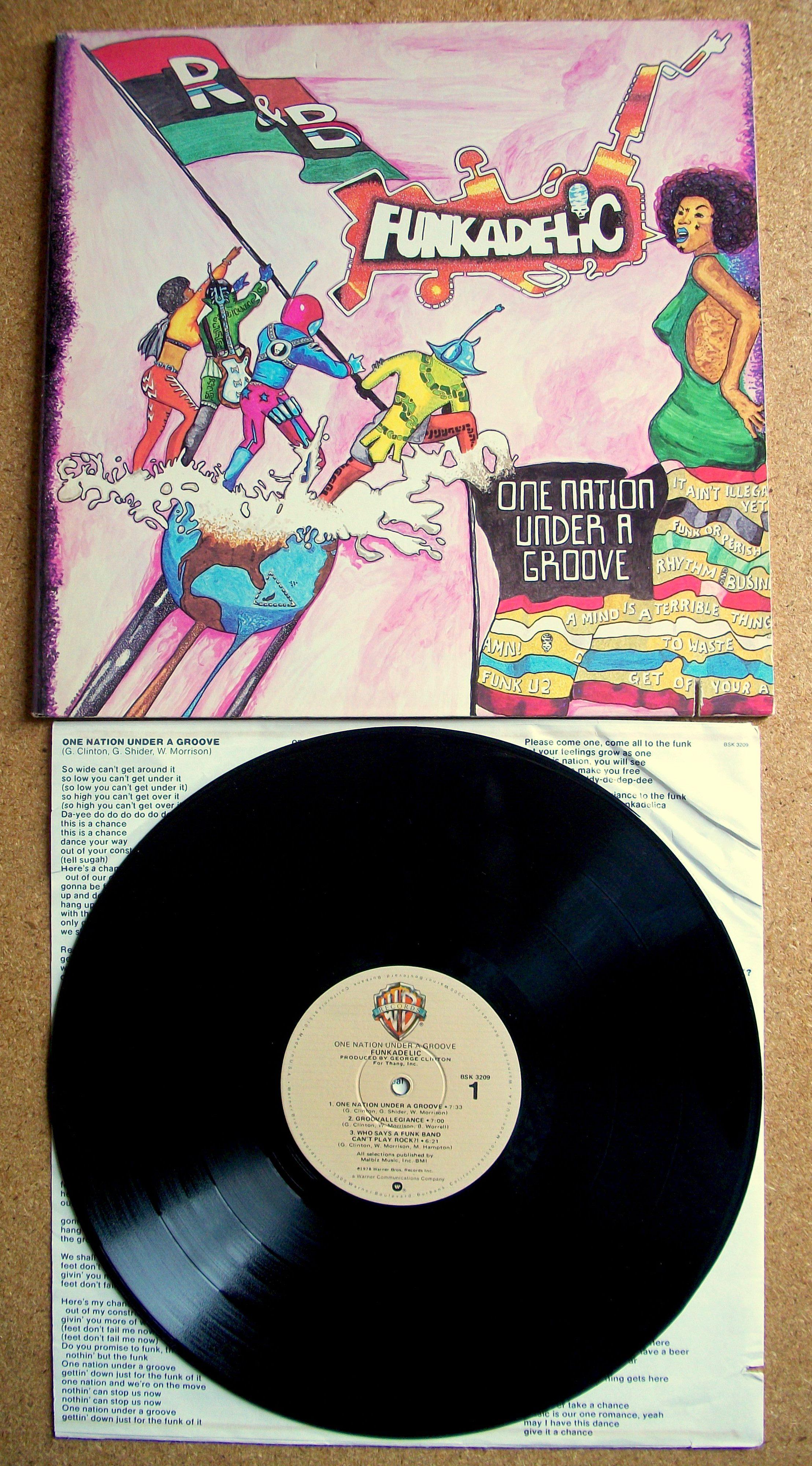 Funkadelic Sinister Salad Musikal S Weblog