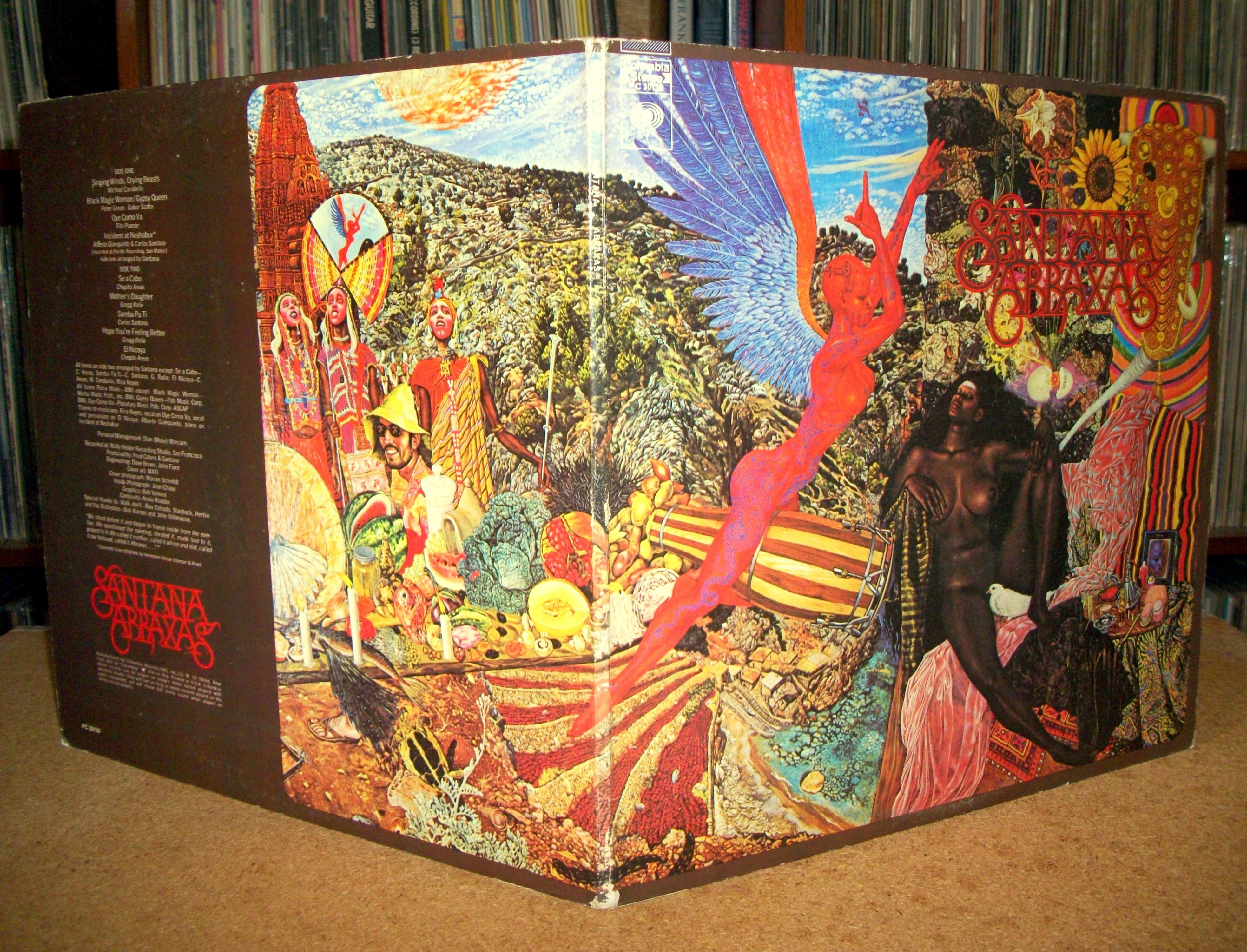 Sinister Vinyl Collection Santana Abraxas 1970