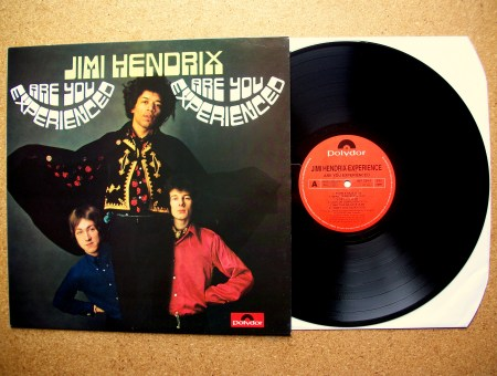 sinister vinyl collection the jimi hendrix experience are you experienced 1967 sinister. Black Bedroom Furniture Sets. Home Design Ideas