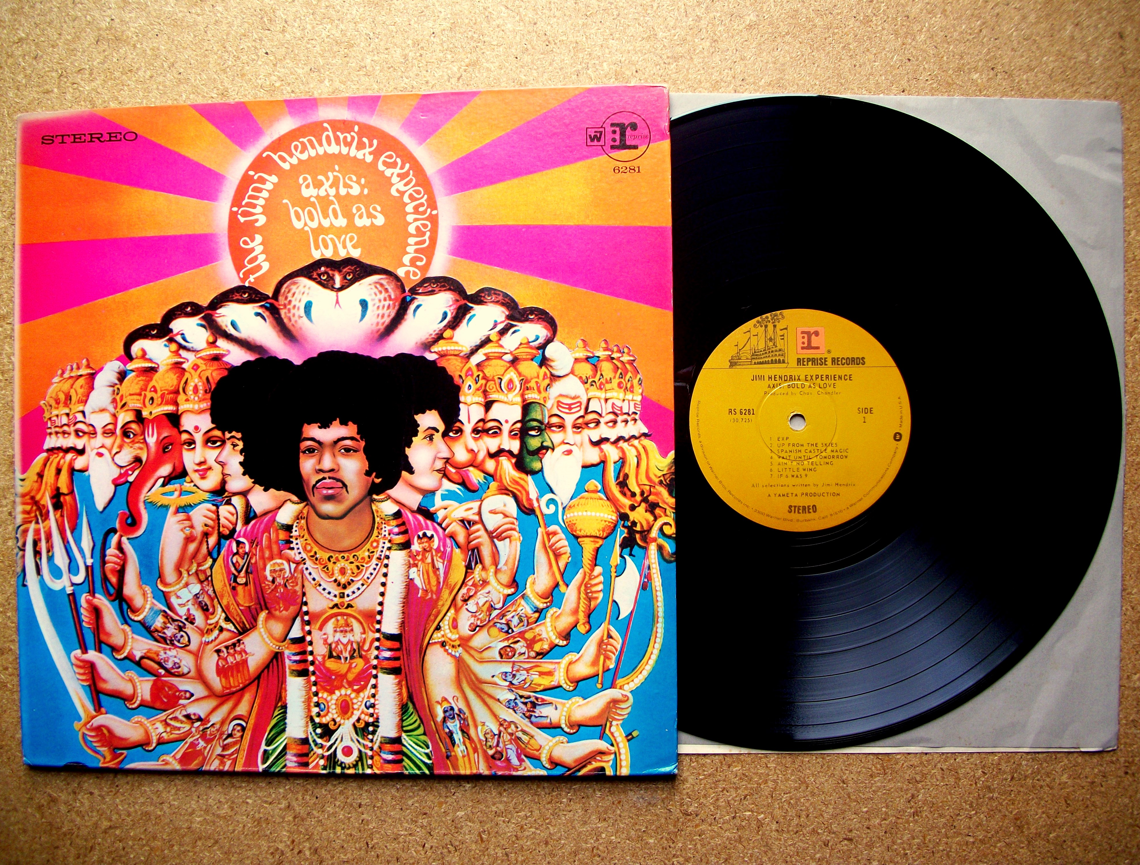 sinister vinyl collection the jimi hendrix experience axis bold as love 1967 sinister. Black Bedroom Furniture Sets. Home Design Ideas
