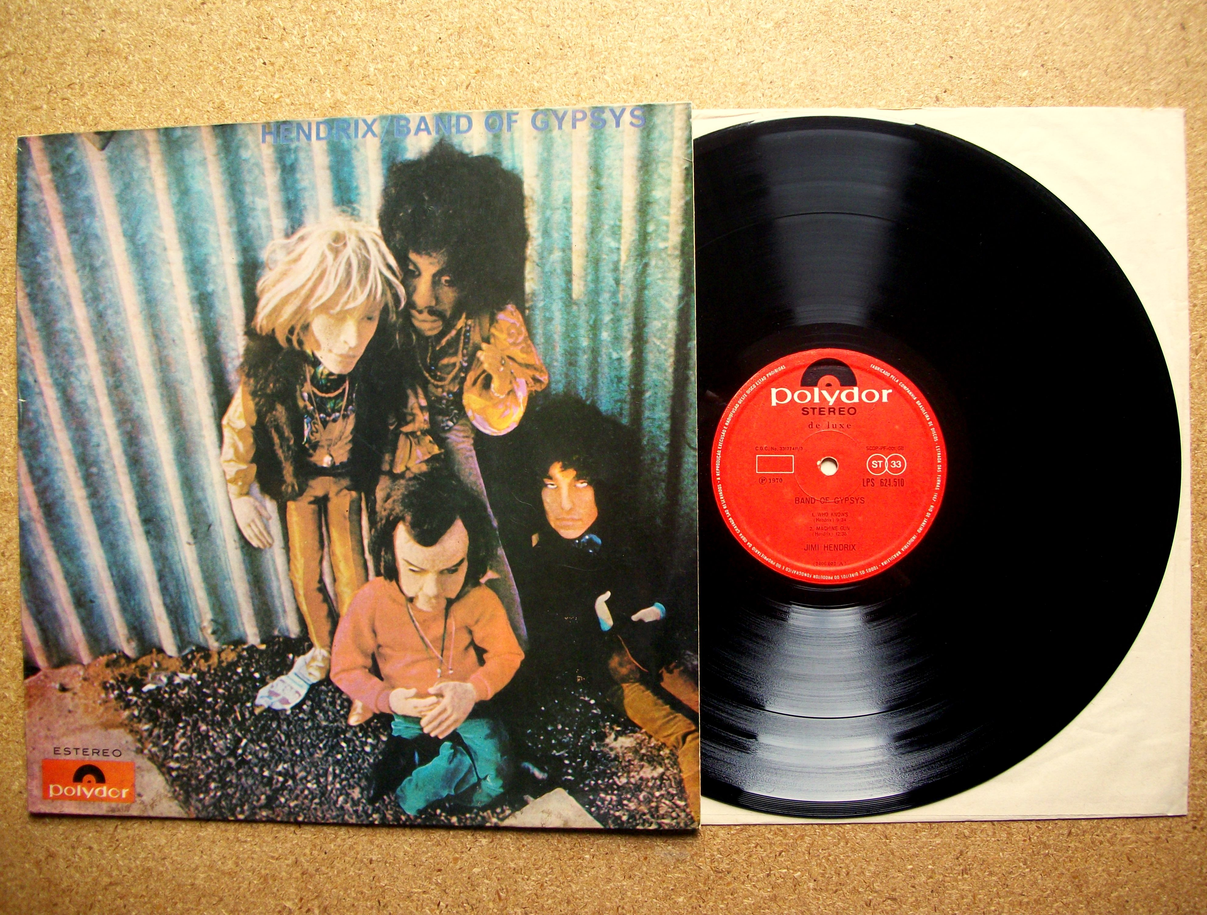 sinister vinyl collection jimi hendrix band of gypsys band of gypsys 1970 sinister. Black Bedroom Furniture Sets. Home Design Ideas