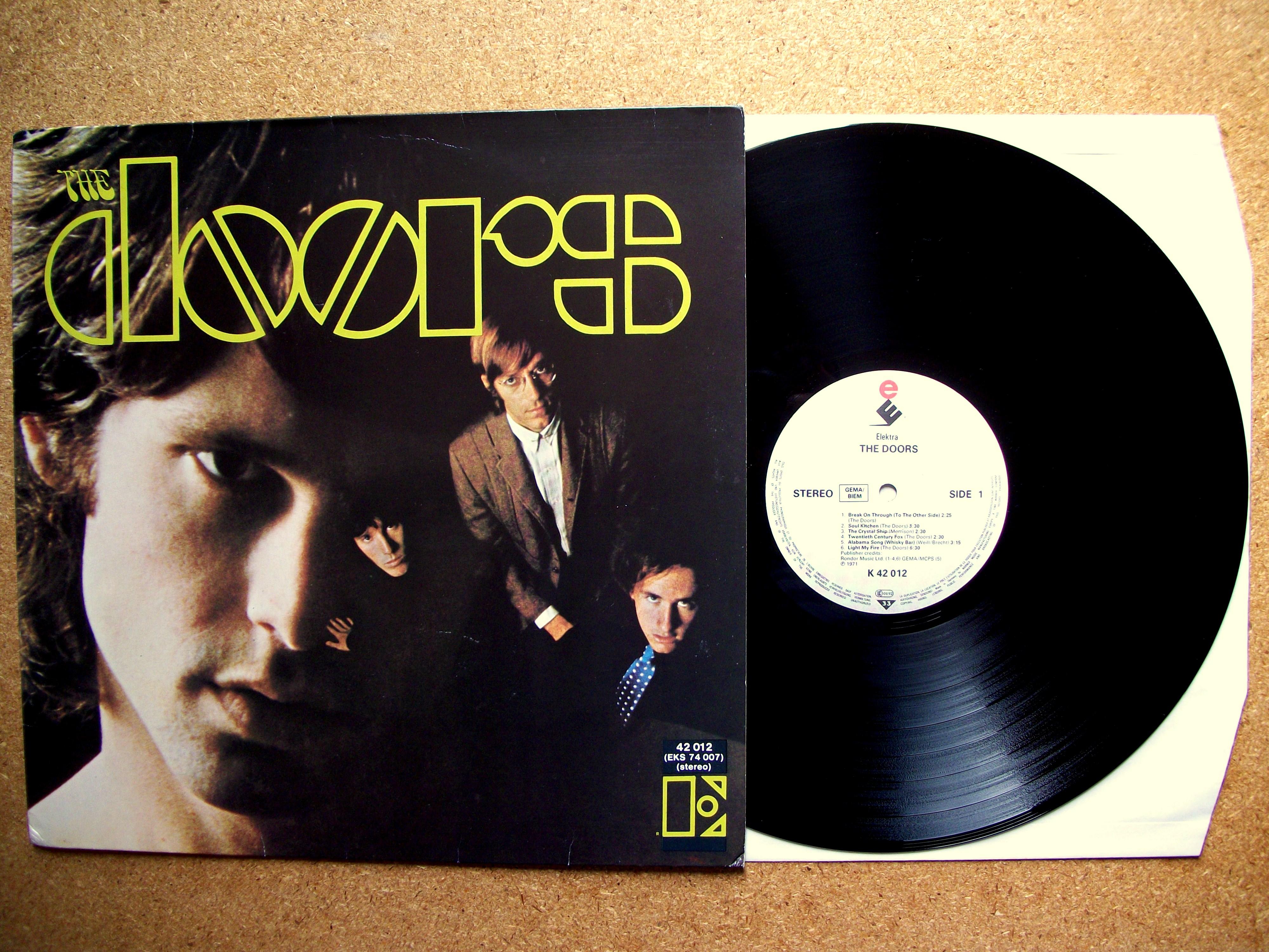 1967 the Doors Albums Vinyl 4000 x 3000