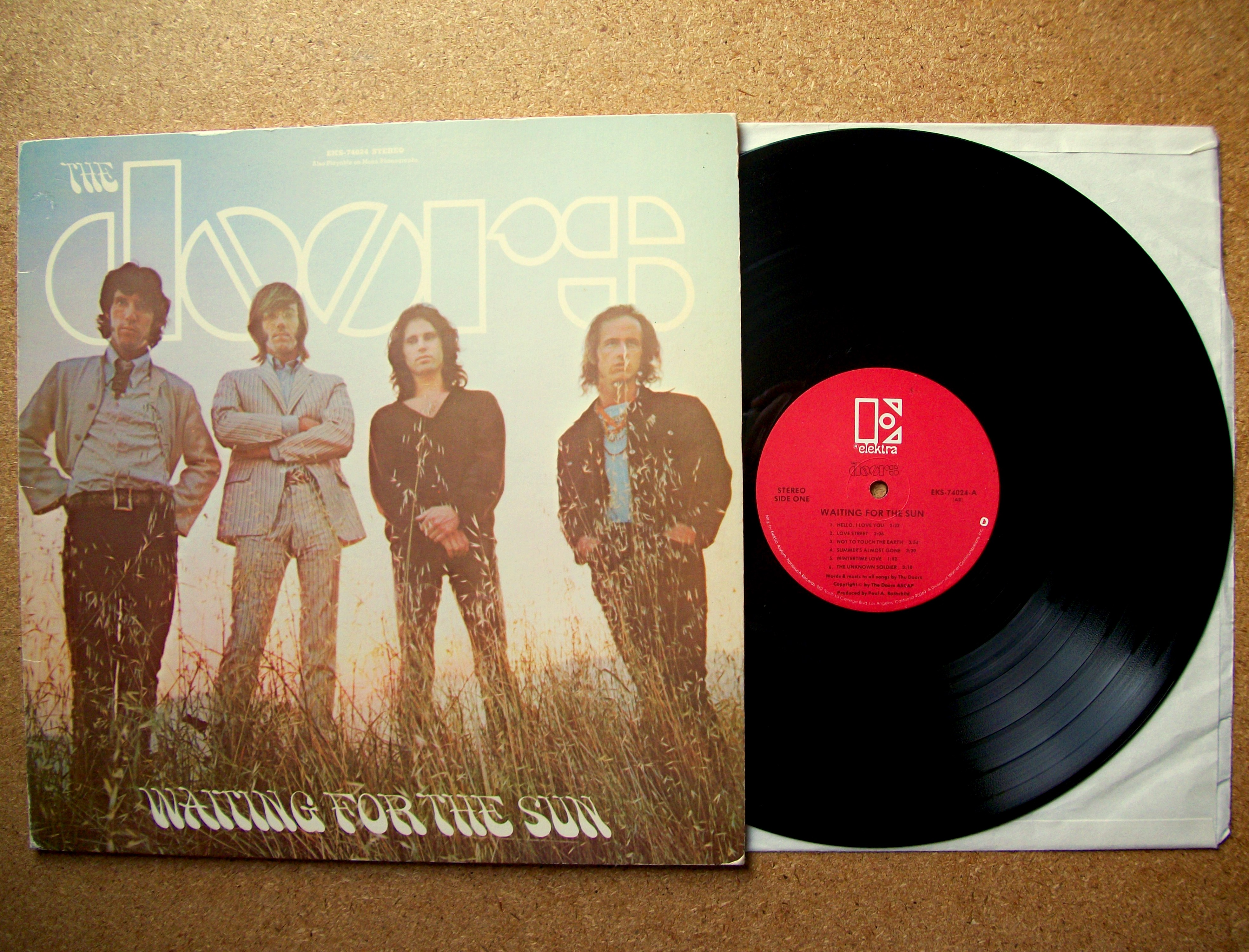 Sinister Vinyl Collection The Doors Waiting For The Sun