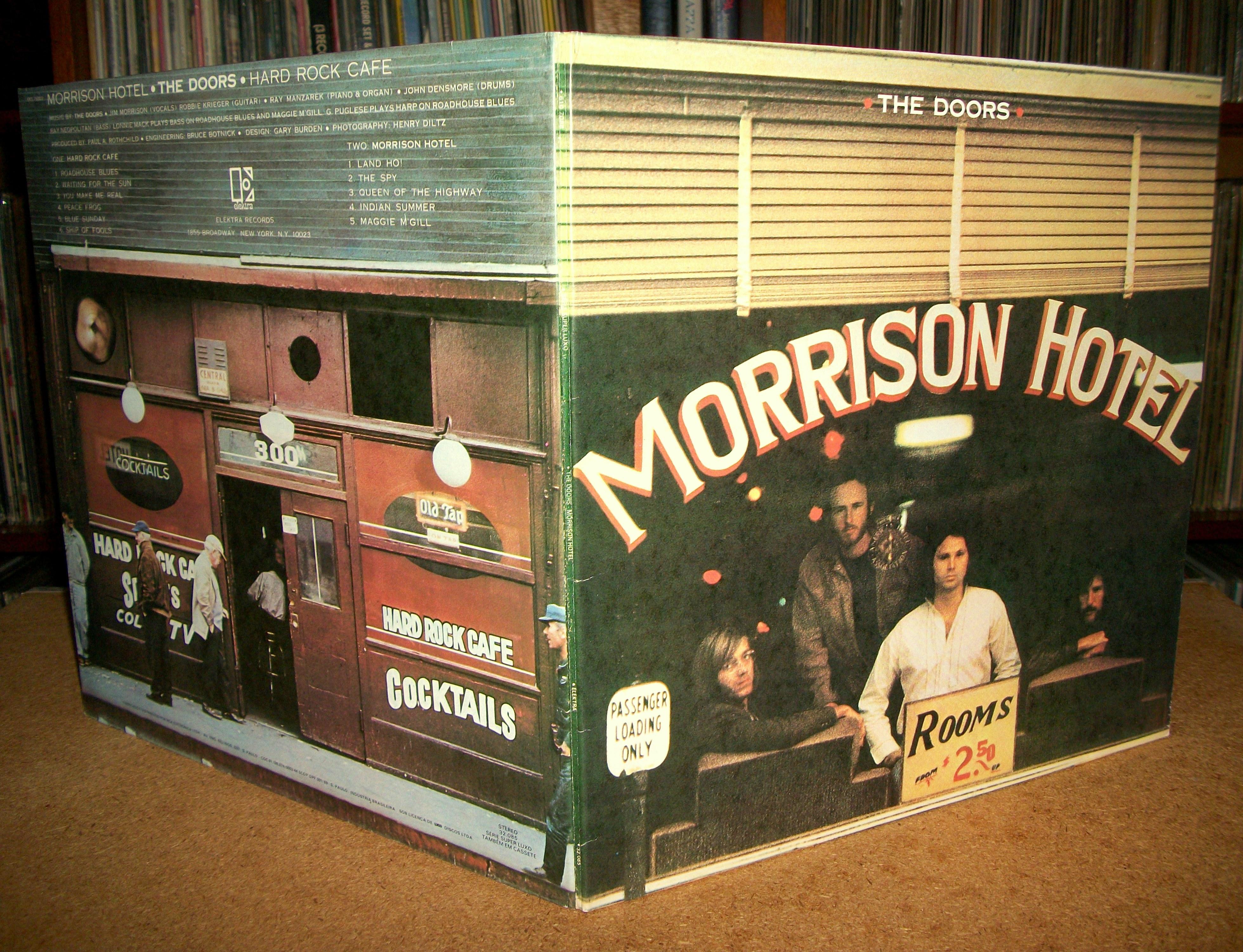 Doors Morrison Hotel 3919 x 3000