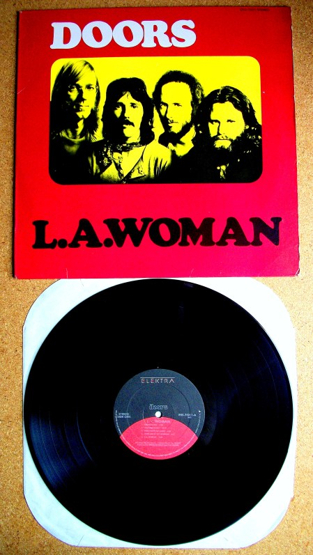 Sinister Vinyl Collection The Doors L A Woman 1971
