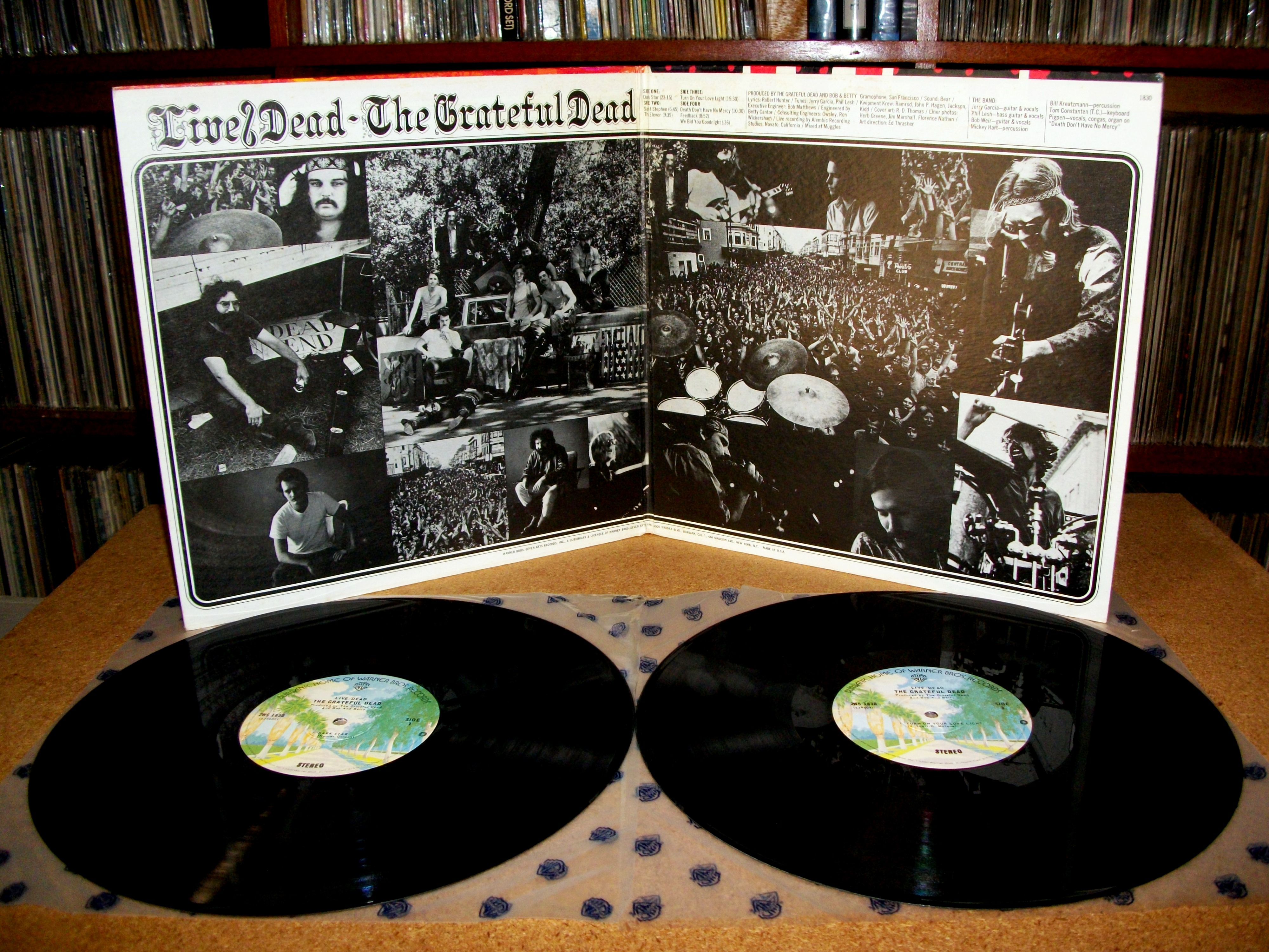Sinister Vinyl Collection Grateful Dead Live Dead