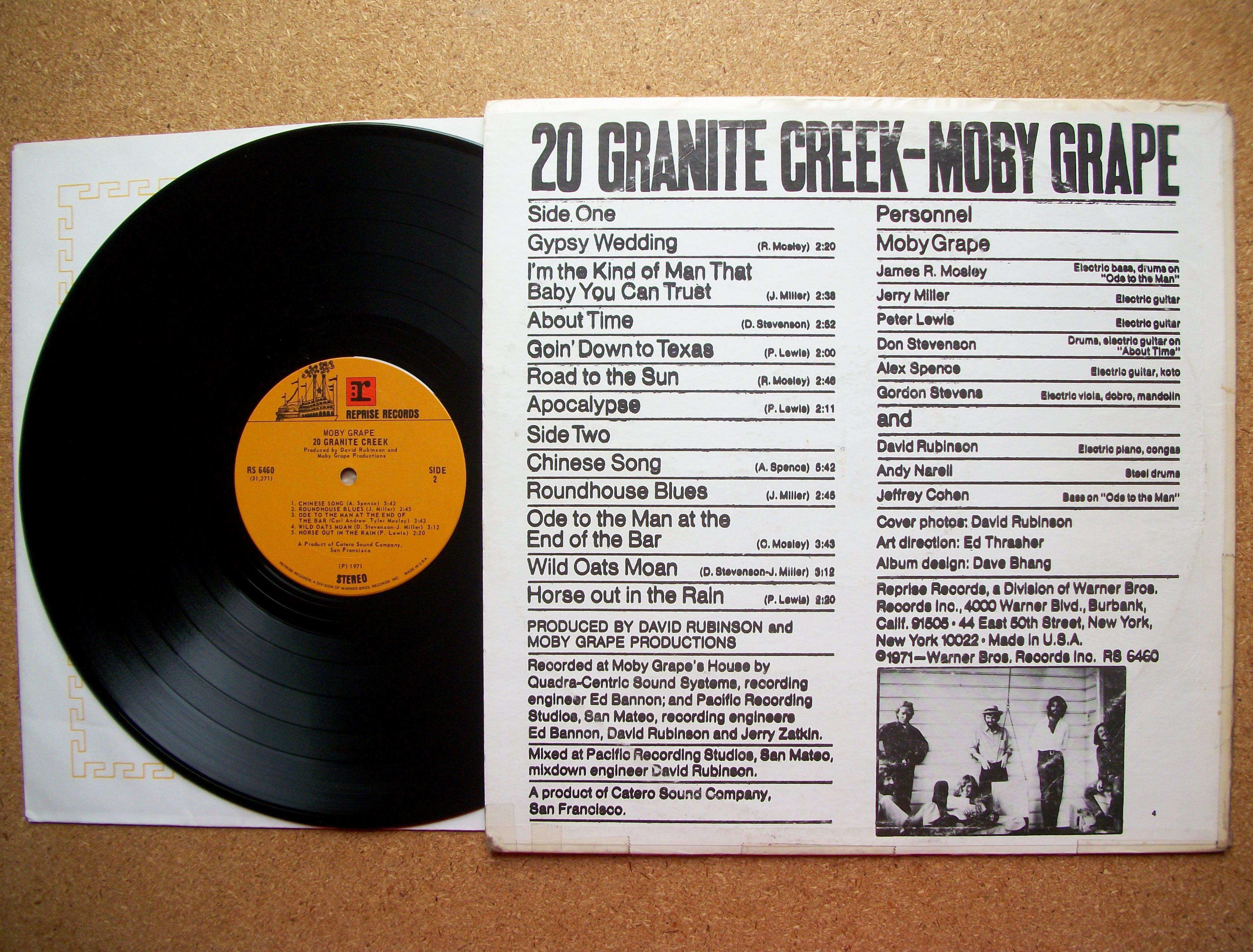 Moby Grape 20 Granite Creek