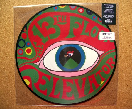 Sinister vinyl collection 13th floor elevators the for 13th floor elevators thru the rhythm