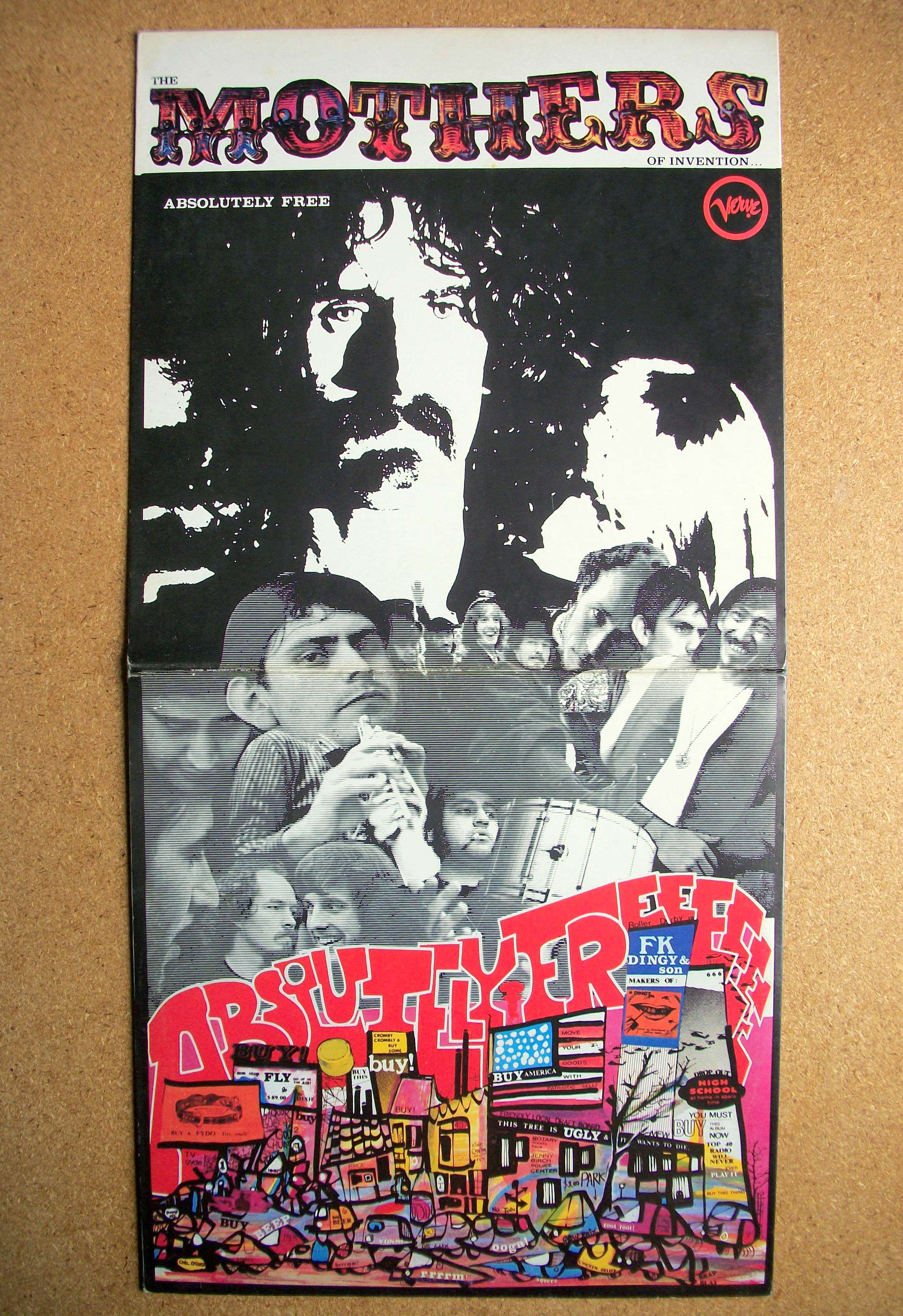 Frank Zappa Mothers Of Invention Sinister Salad