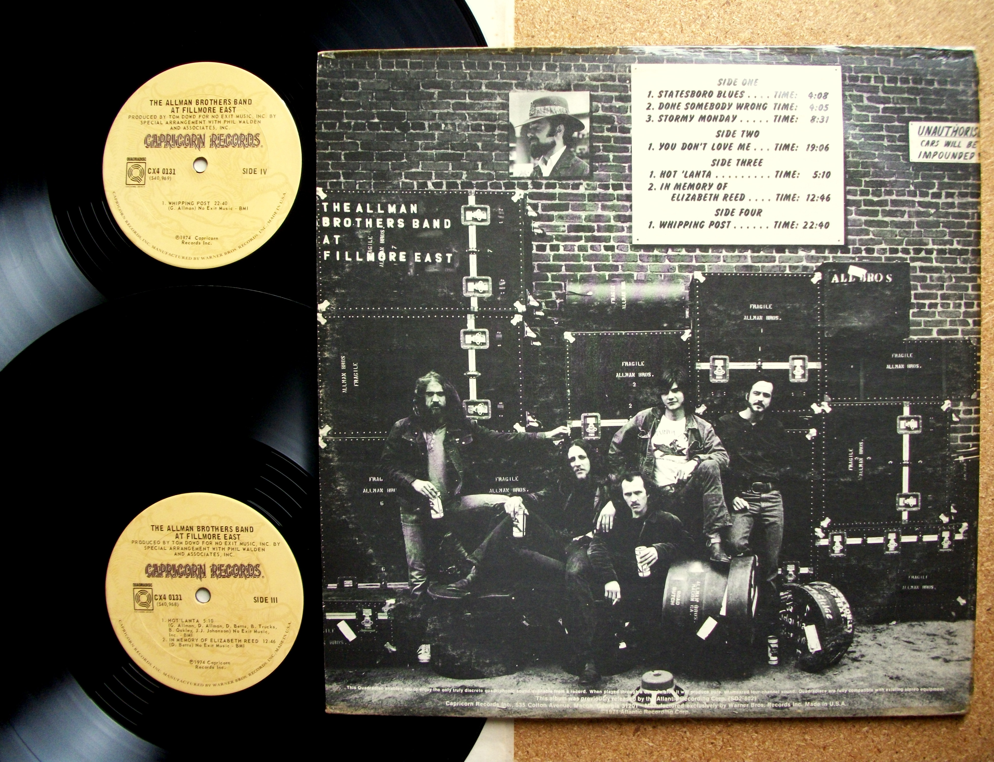 The Allman Brothers Band - Live at the Filmore East (1971)