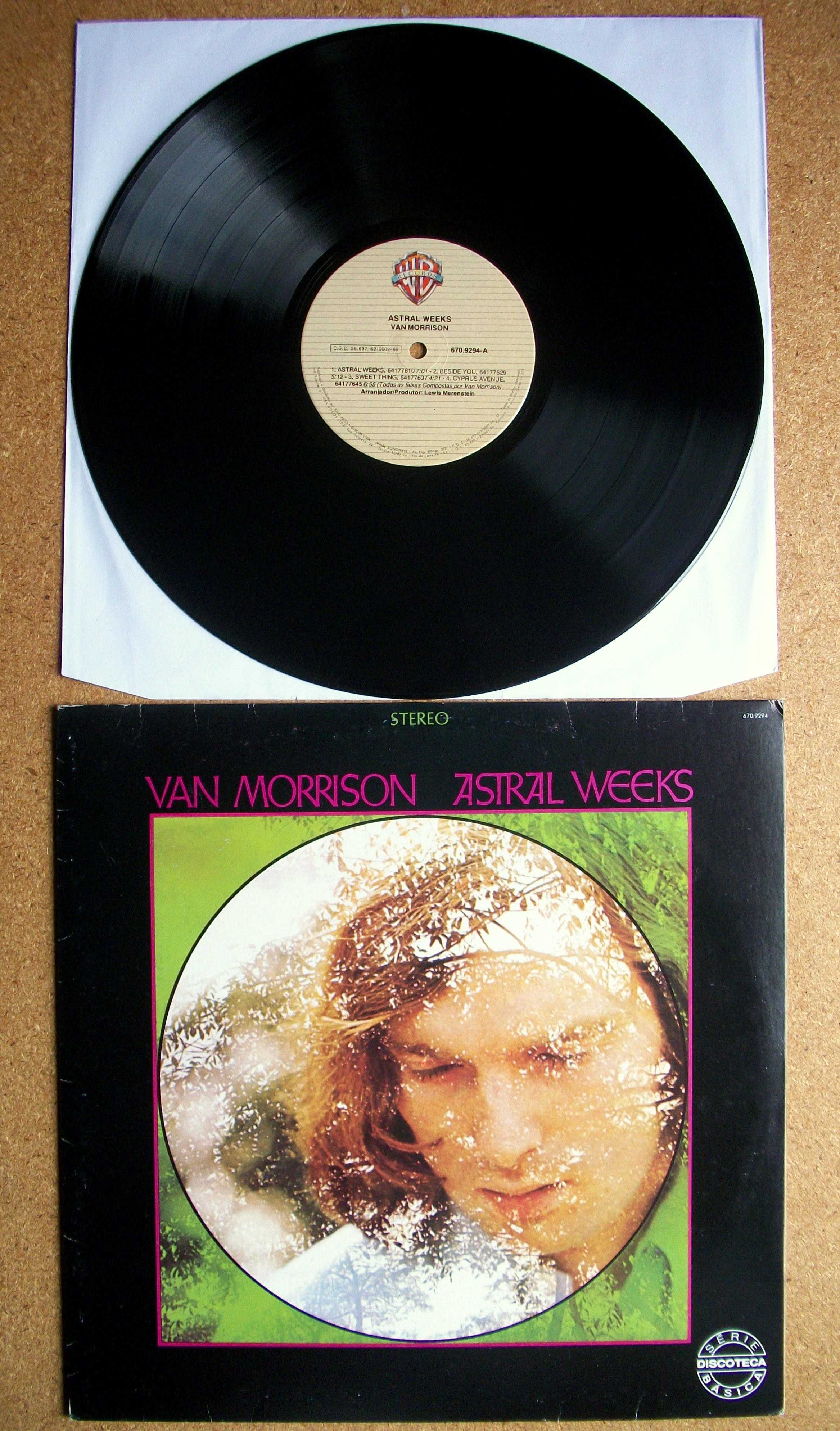 sinister vinyl collection van morrison astral weeks  artista van morrison