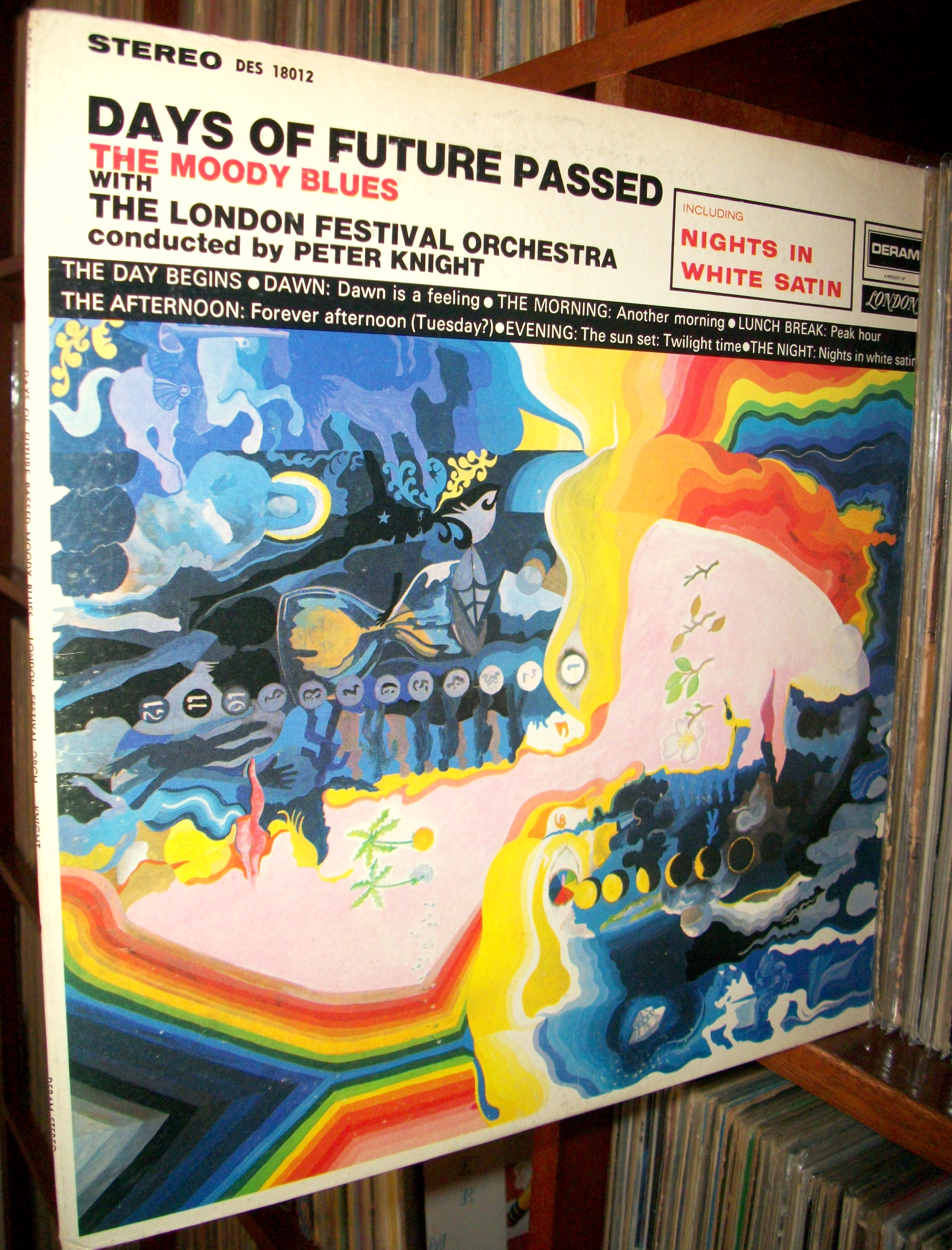 SINISTER VINYL COLLECTION: THE MOODY BLUES – DAYS OF FUTURE PASSED