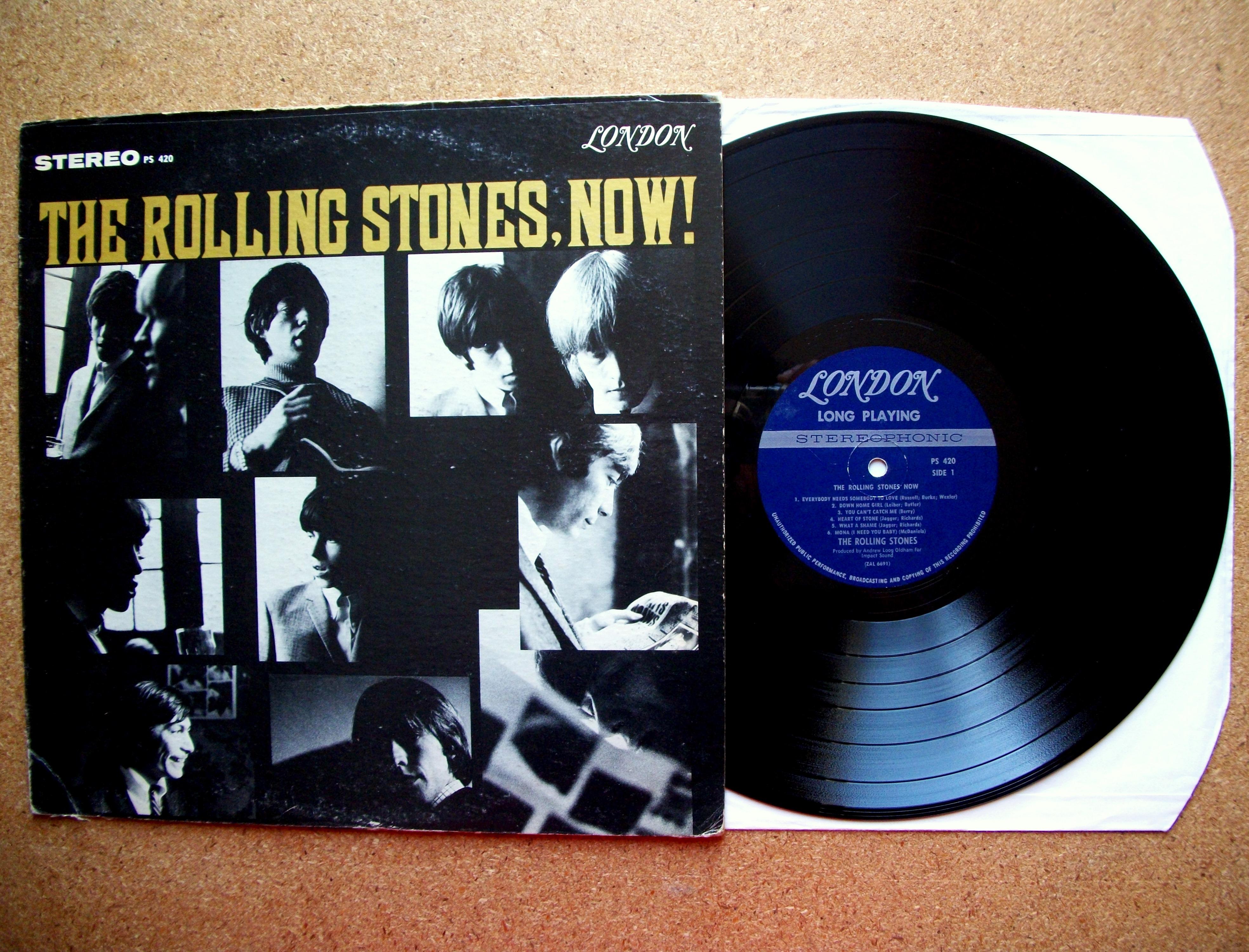 Vinyl Rolling Stones