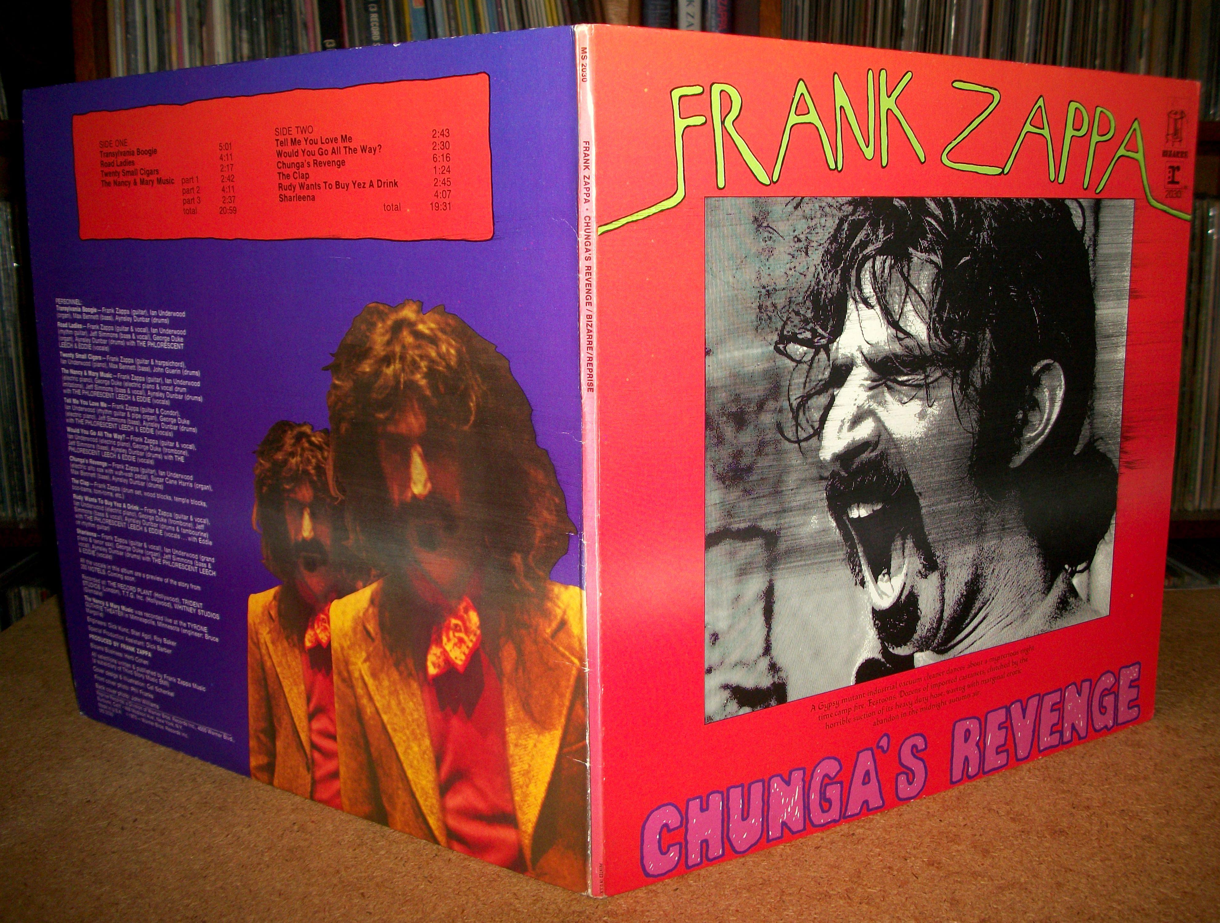 Sinister Vinyl Collection Frank Zappa Chunga S Revenge