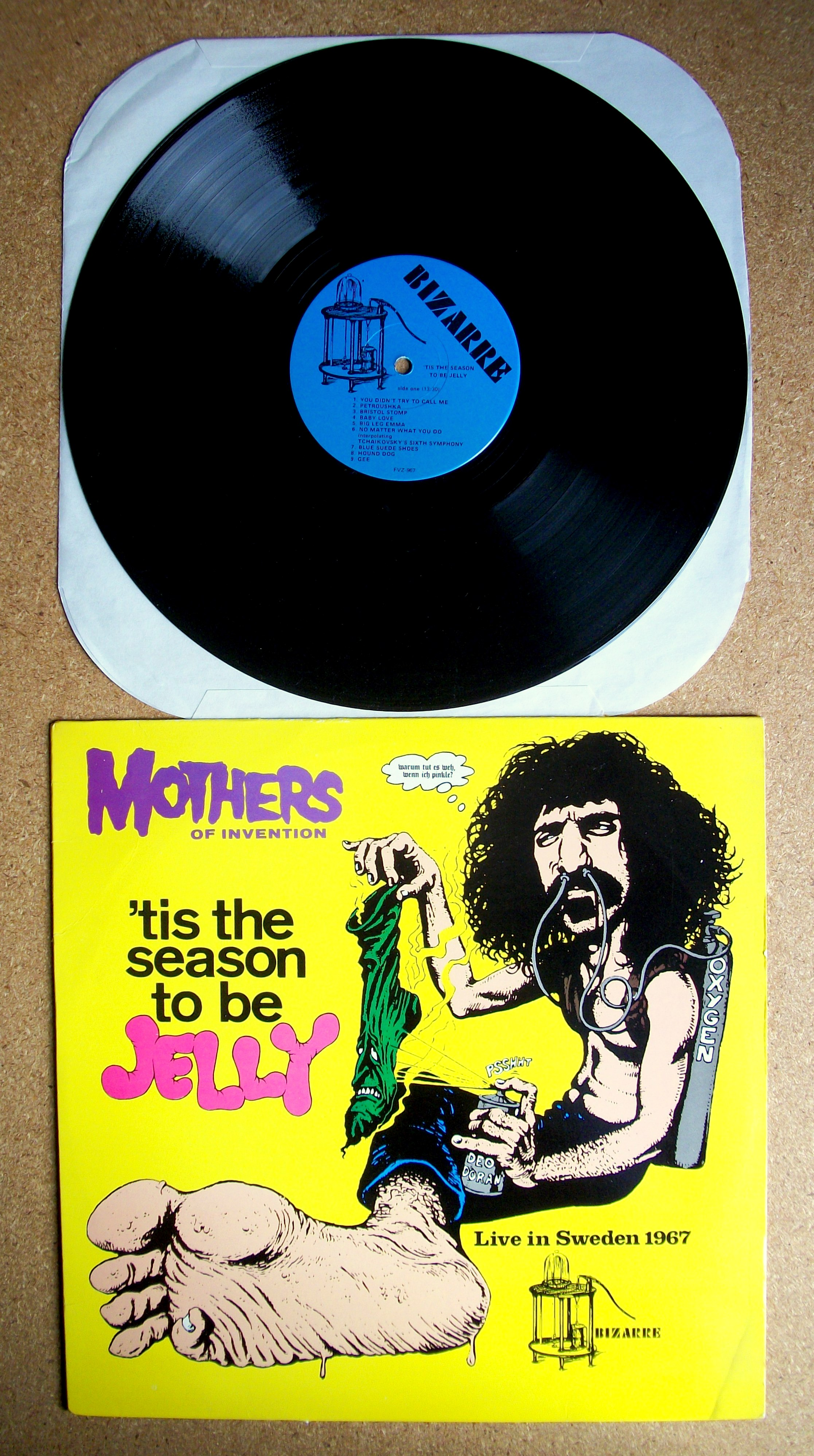 Sinister Vinyl Collection Frank Zappa Amp The Mothers Of