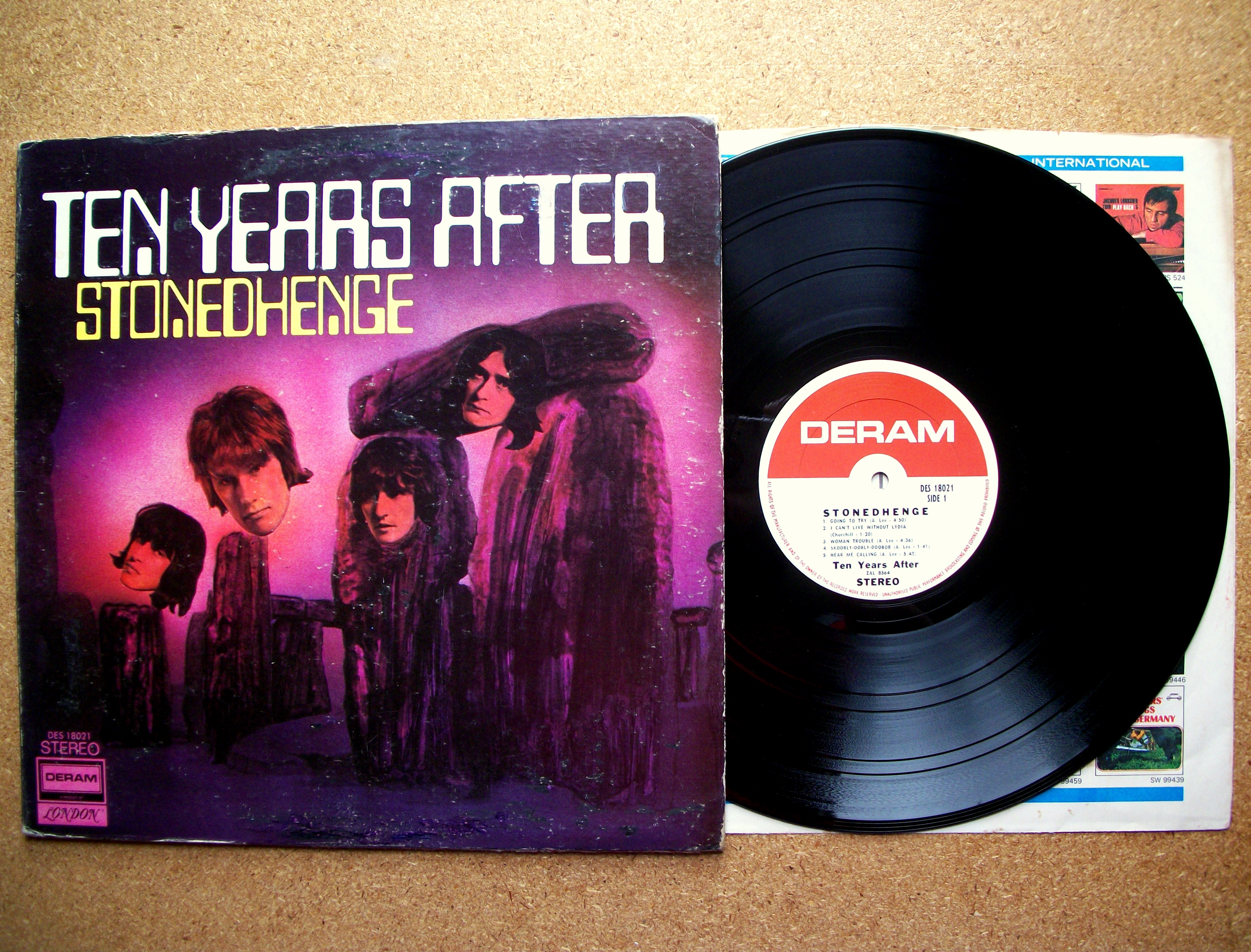 Sinister Vinyl Collection Ten Years After Stonedhenge