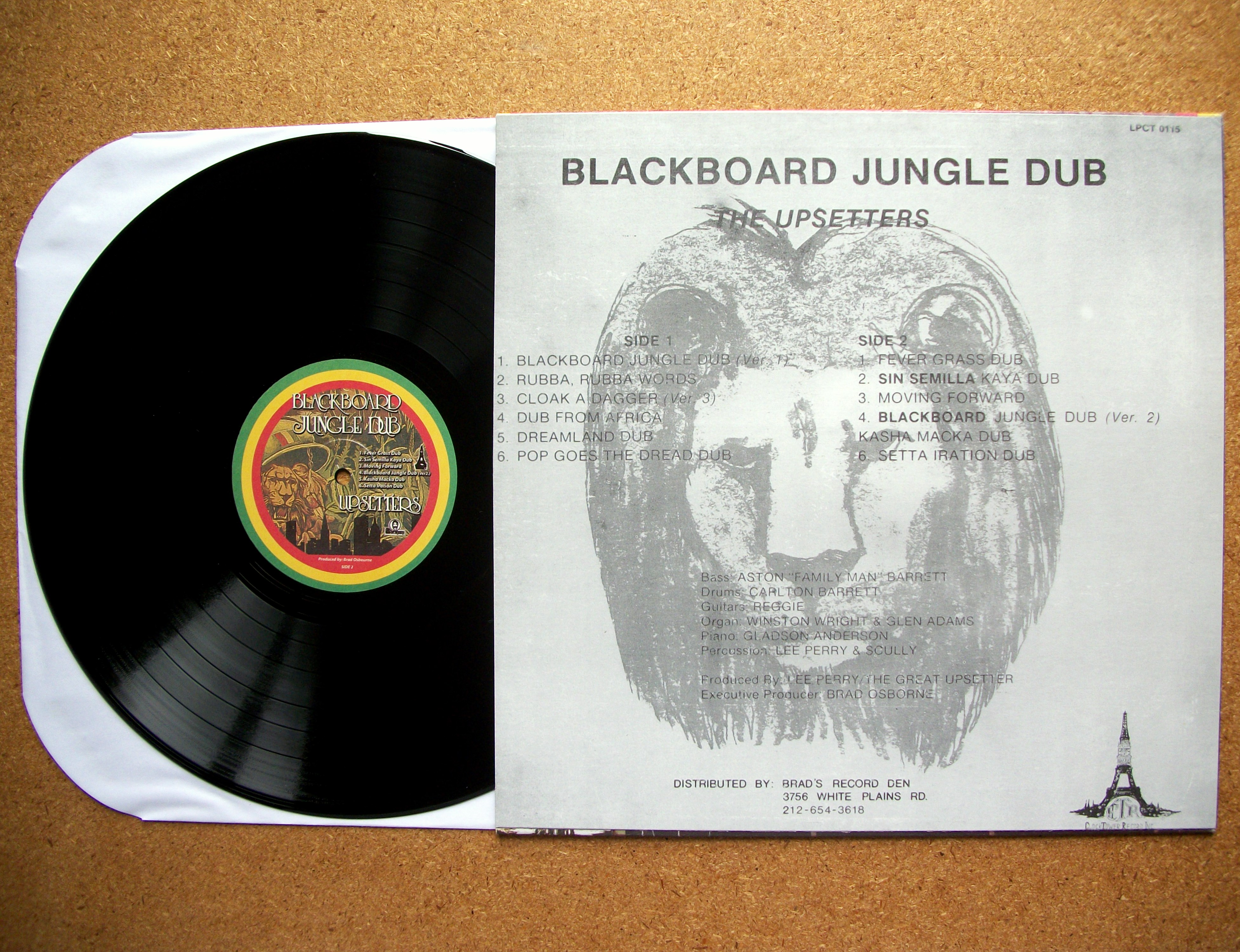 Sinister Vinyl Collection The Upsetters Blackboard