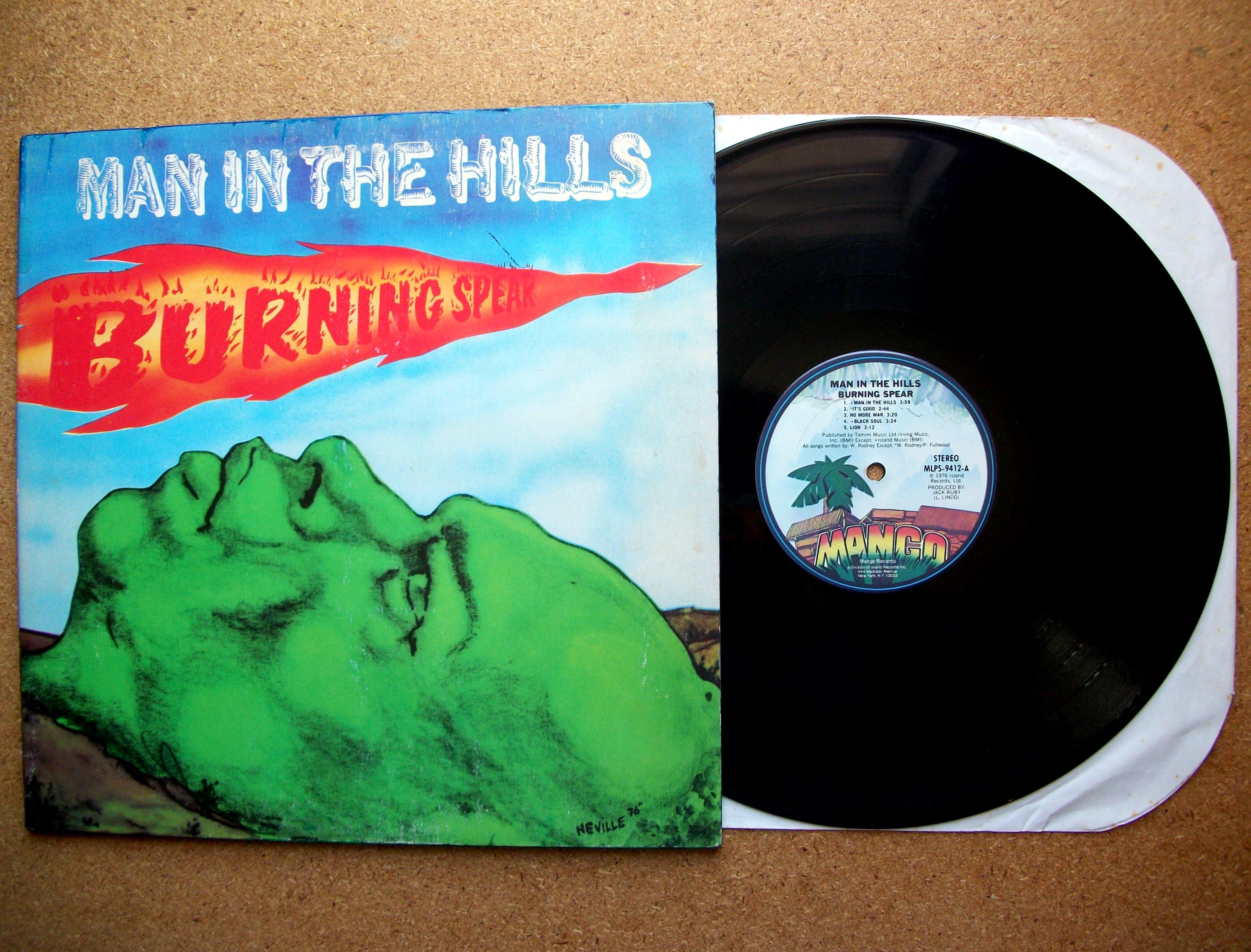Sinister Vinyl Collection Burning Spear Man In The