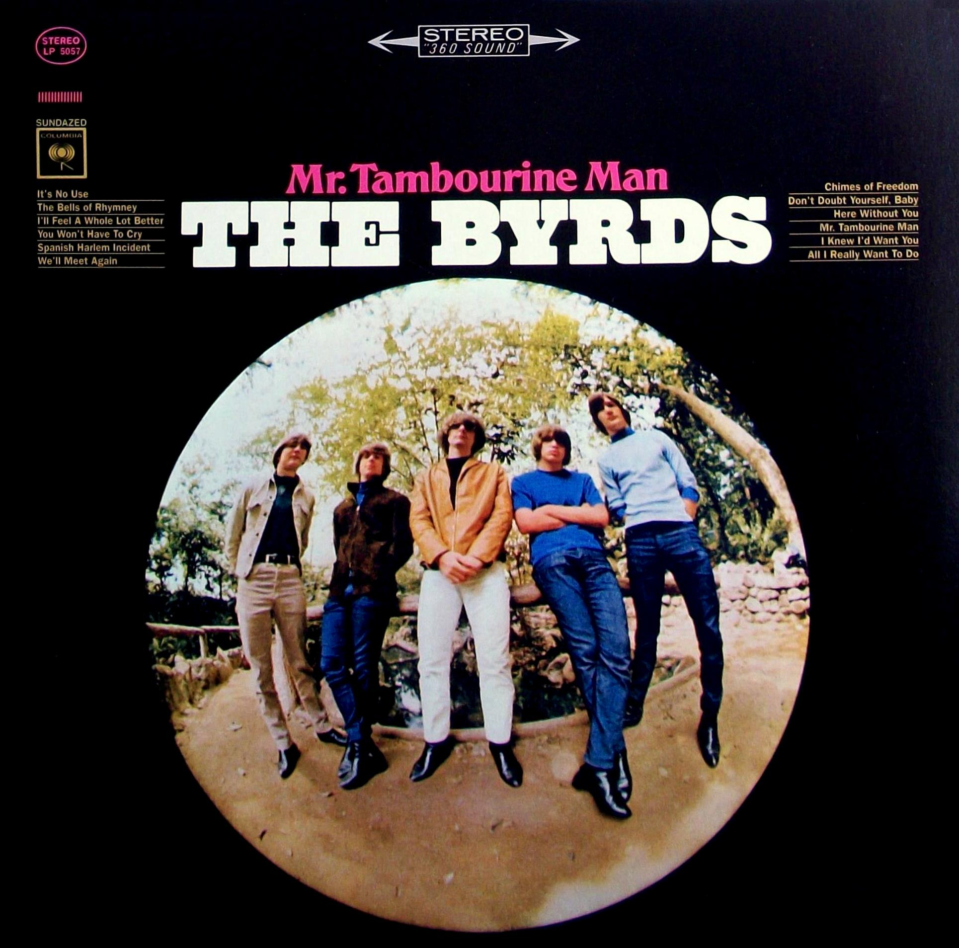 Sinister Vinyl Collection The Byrds Mr Tambourine Man