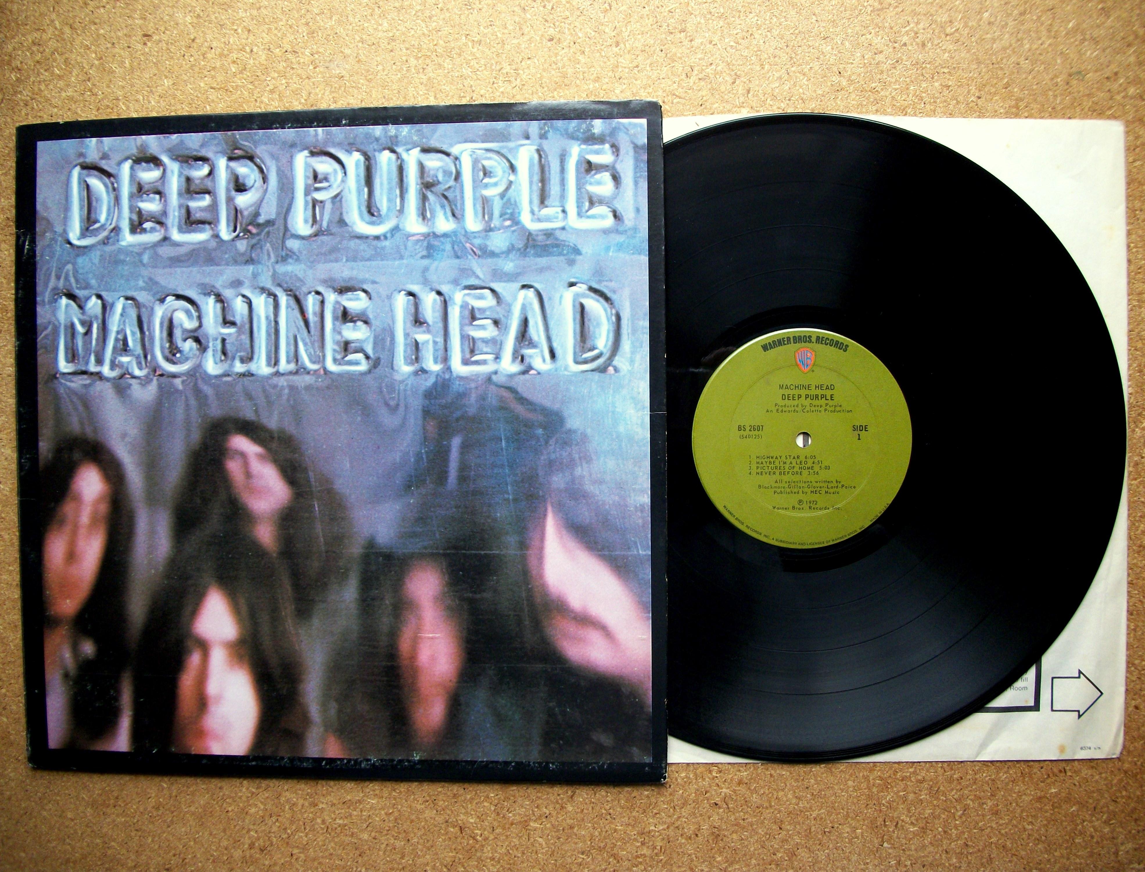 machine purple vinyl