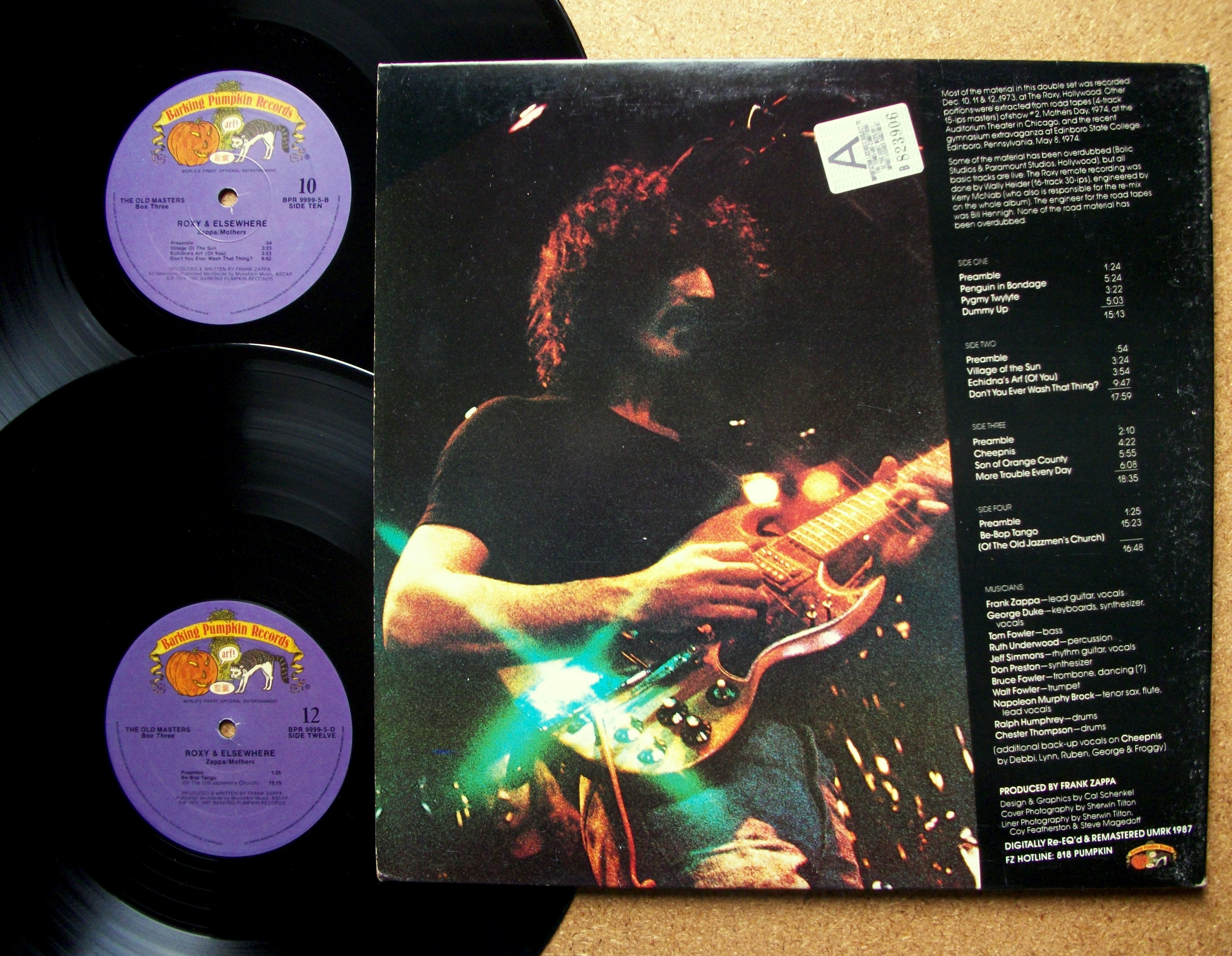 Sinister Vinyl Collection Frank Zappa Amp The Mothers