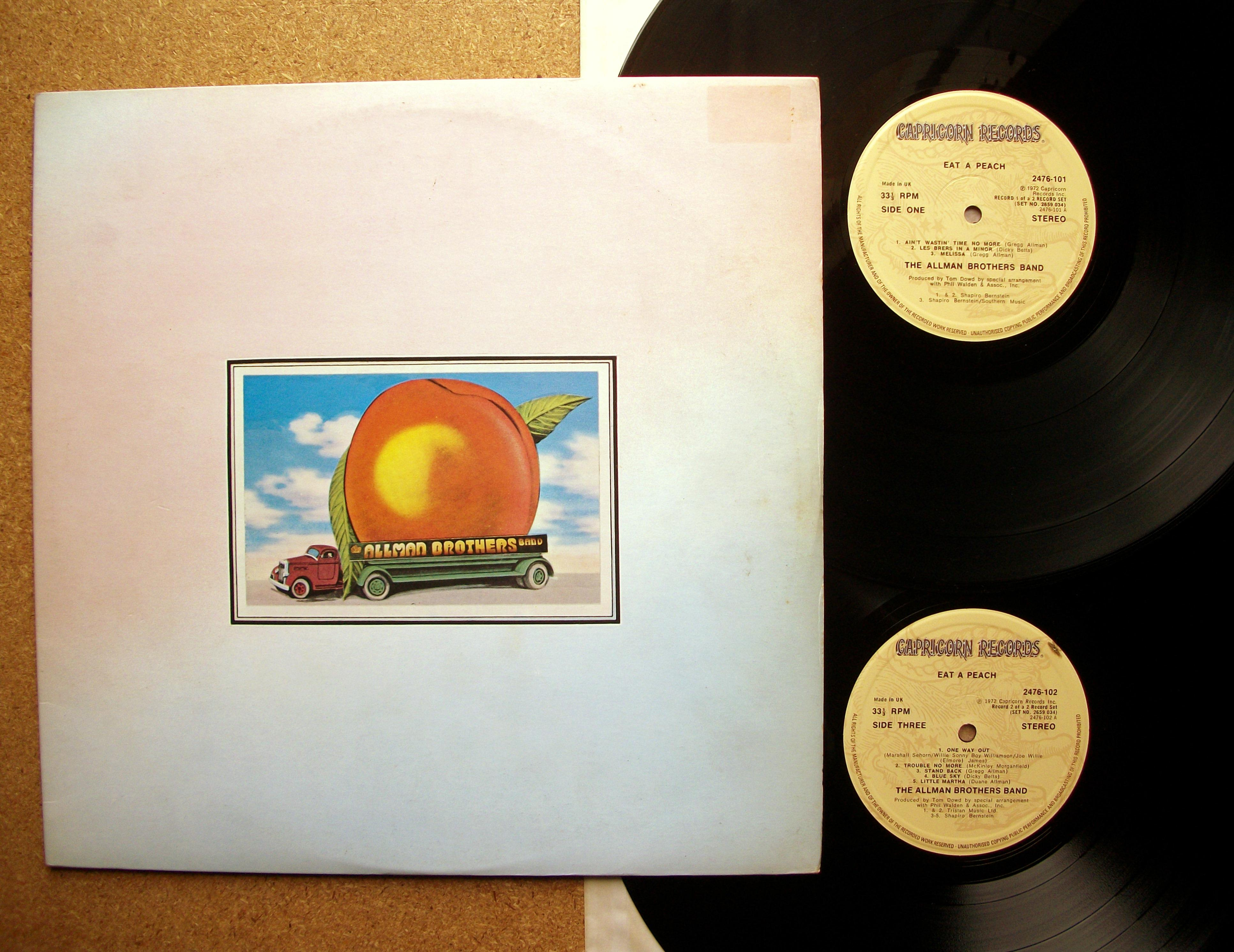 Sinister Vinyl Collection The Allman Brothers Band Eat