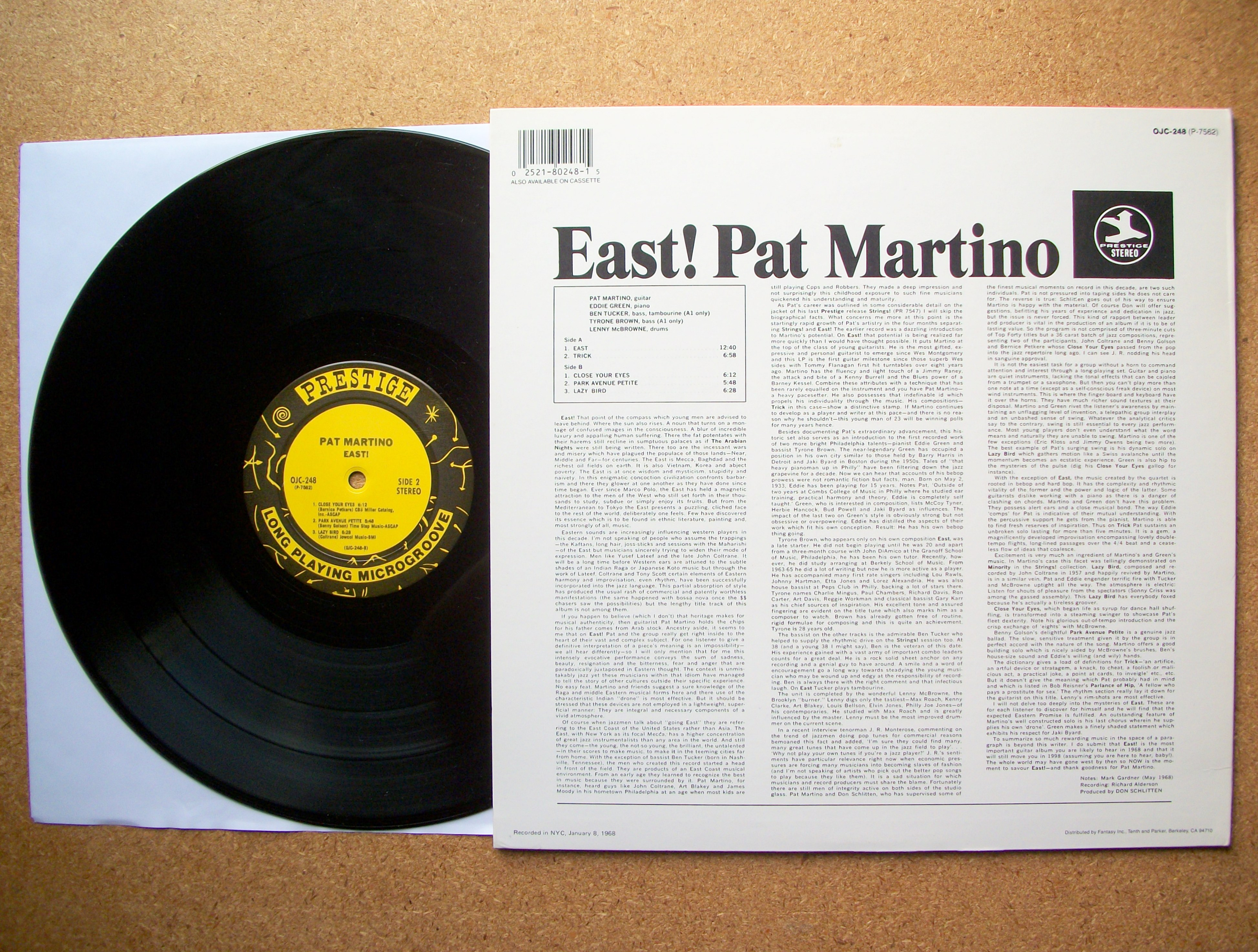 Pat Martino Baiyina The Clear Evidence