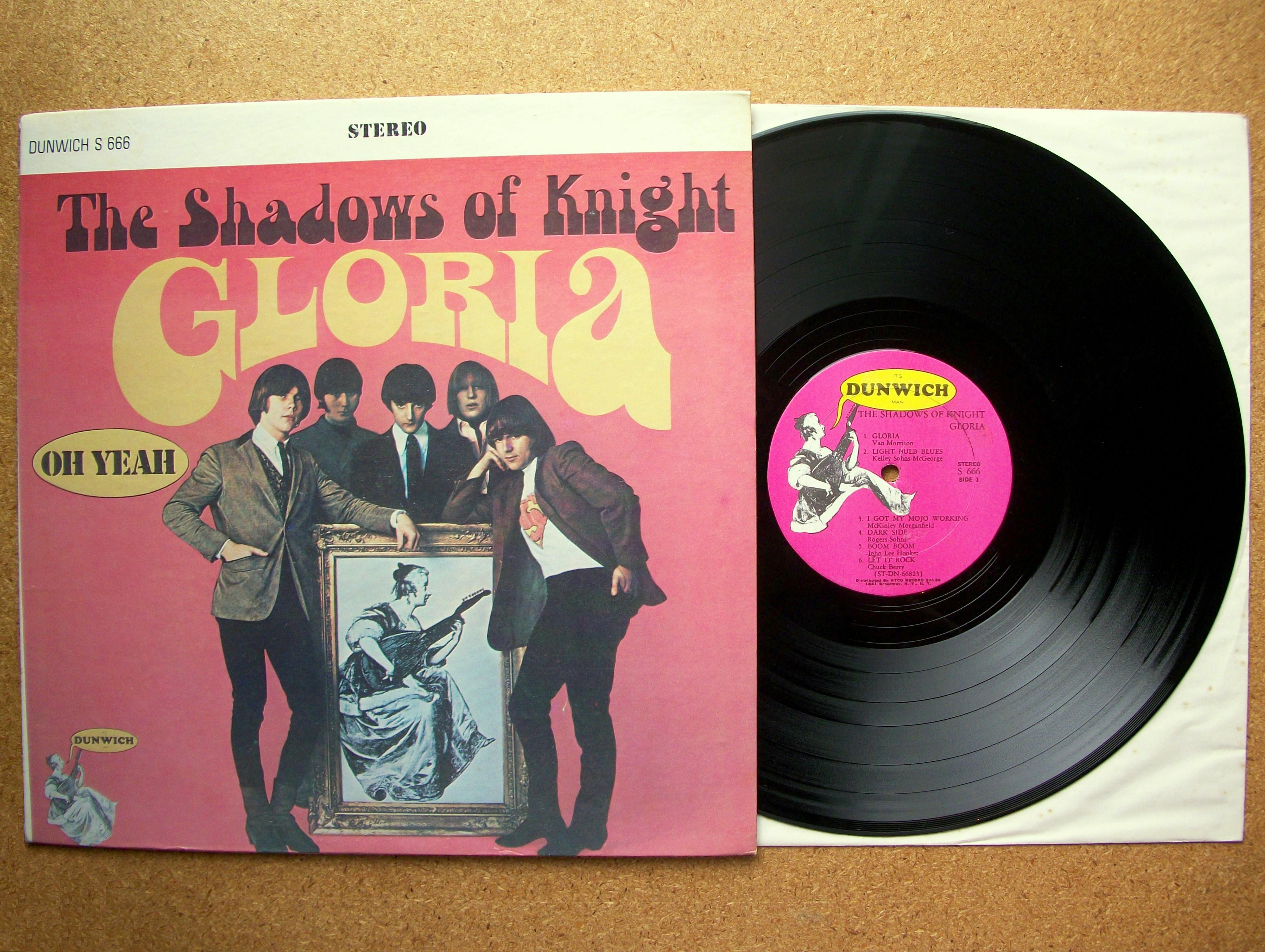 Sinister Vinyl Collection The Shadows Of Knight Gloria
