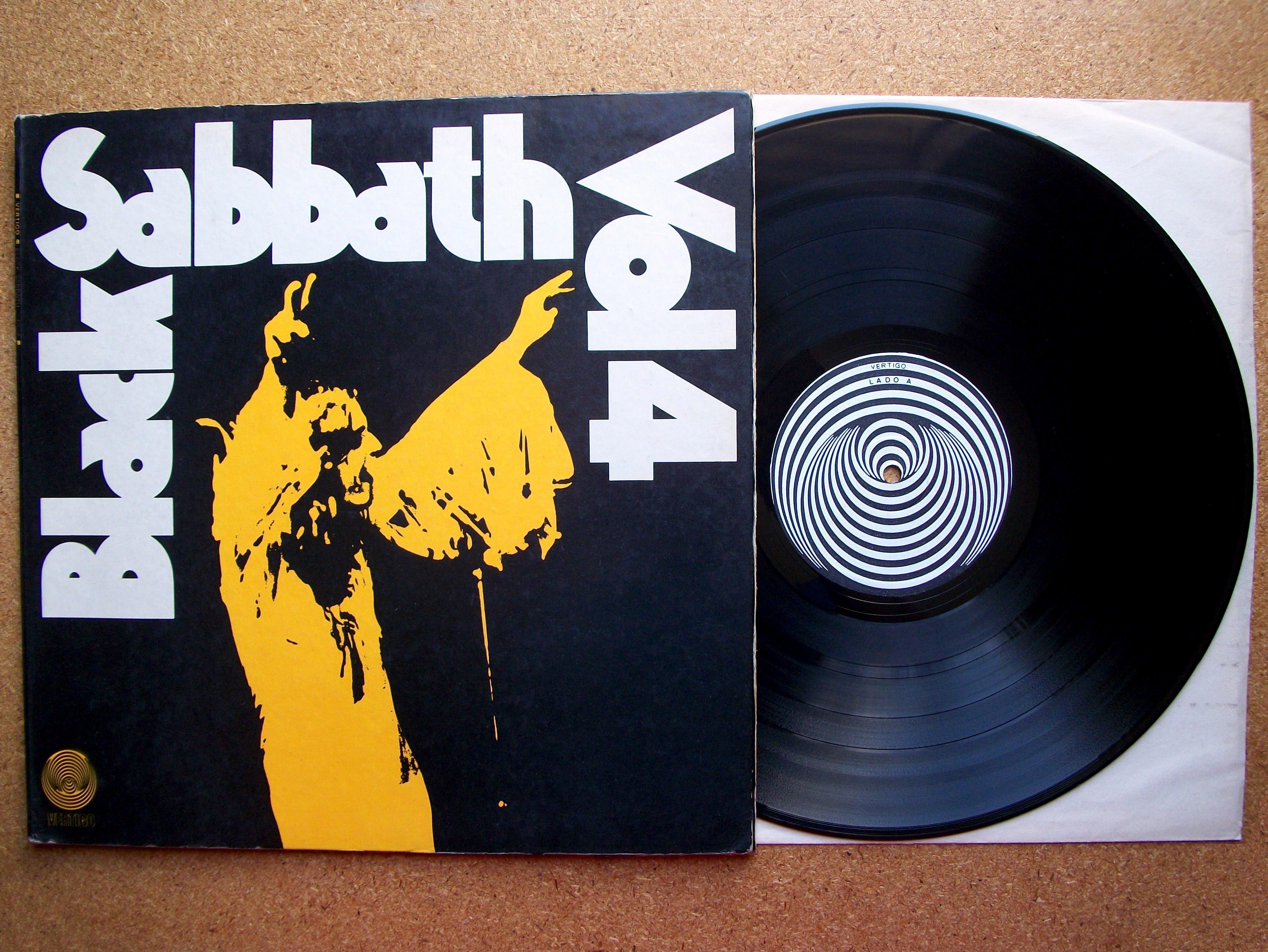 13a0132295 SINISTER VINYL COLLECTION  BLACK SABBATH – VOLUME 4 (1972)