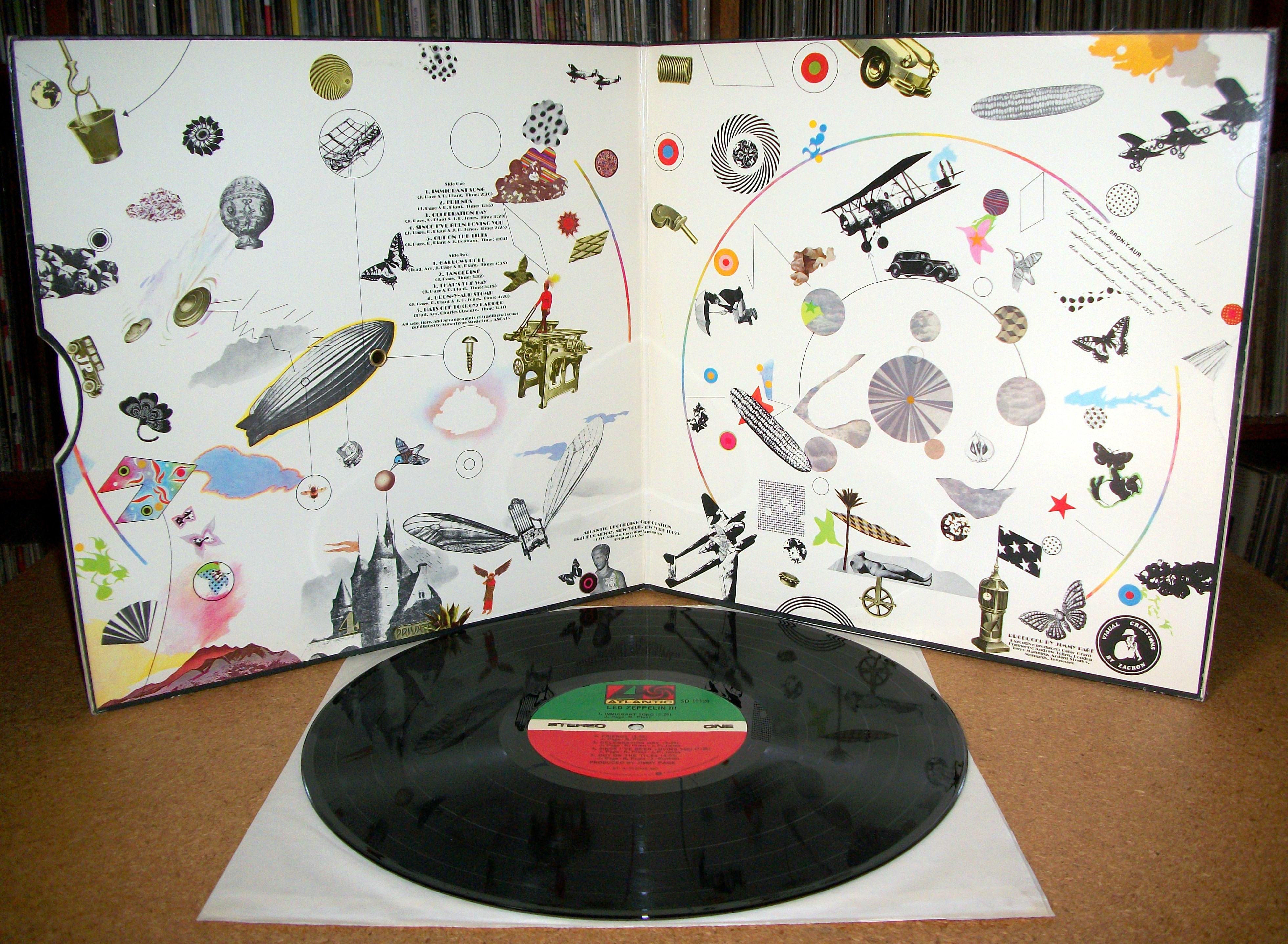 Sinister Vinyl Collection Led Zeppelin Led Zeppelin Iii