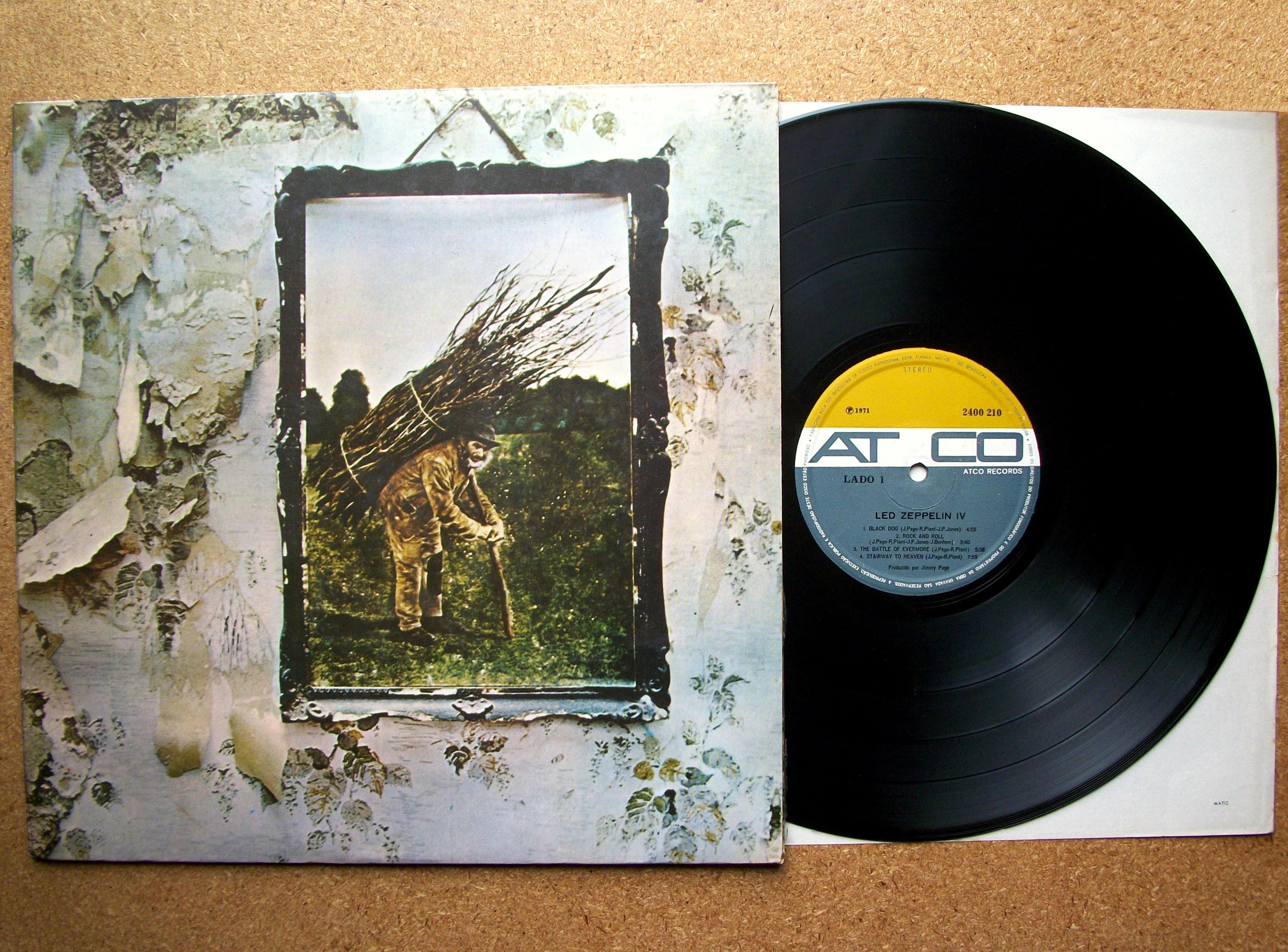 Sinister Vinyl Collection Led Zeppelin Led Zeppelin Iv