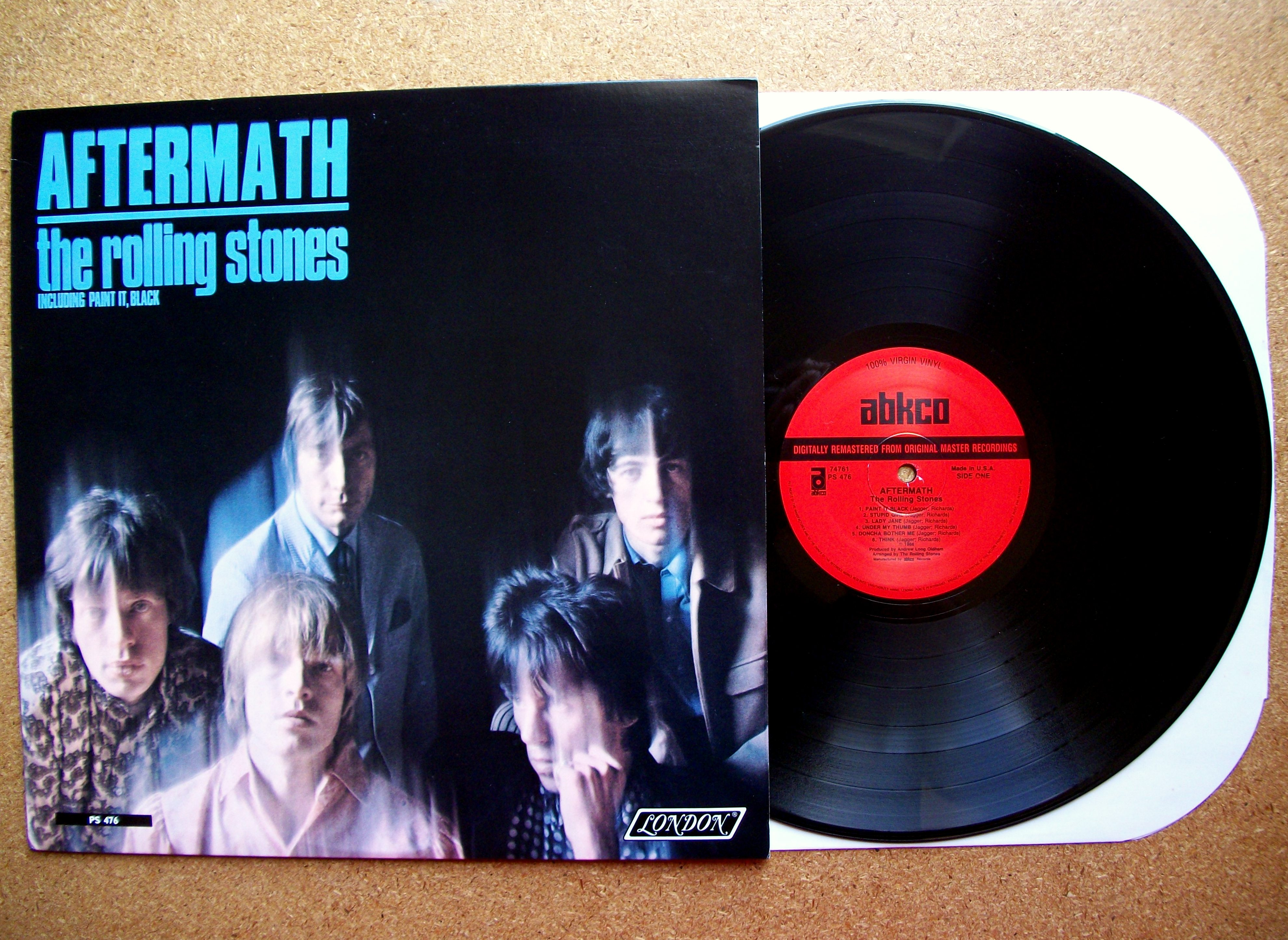 SINISTER VINYL COLLECTION: THE ROLLING STONES – AFTERMATH