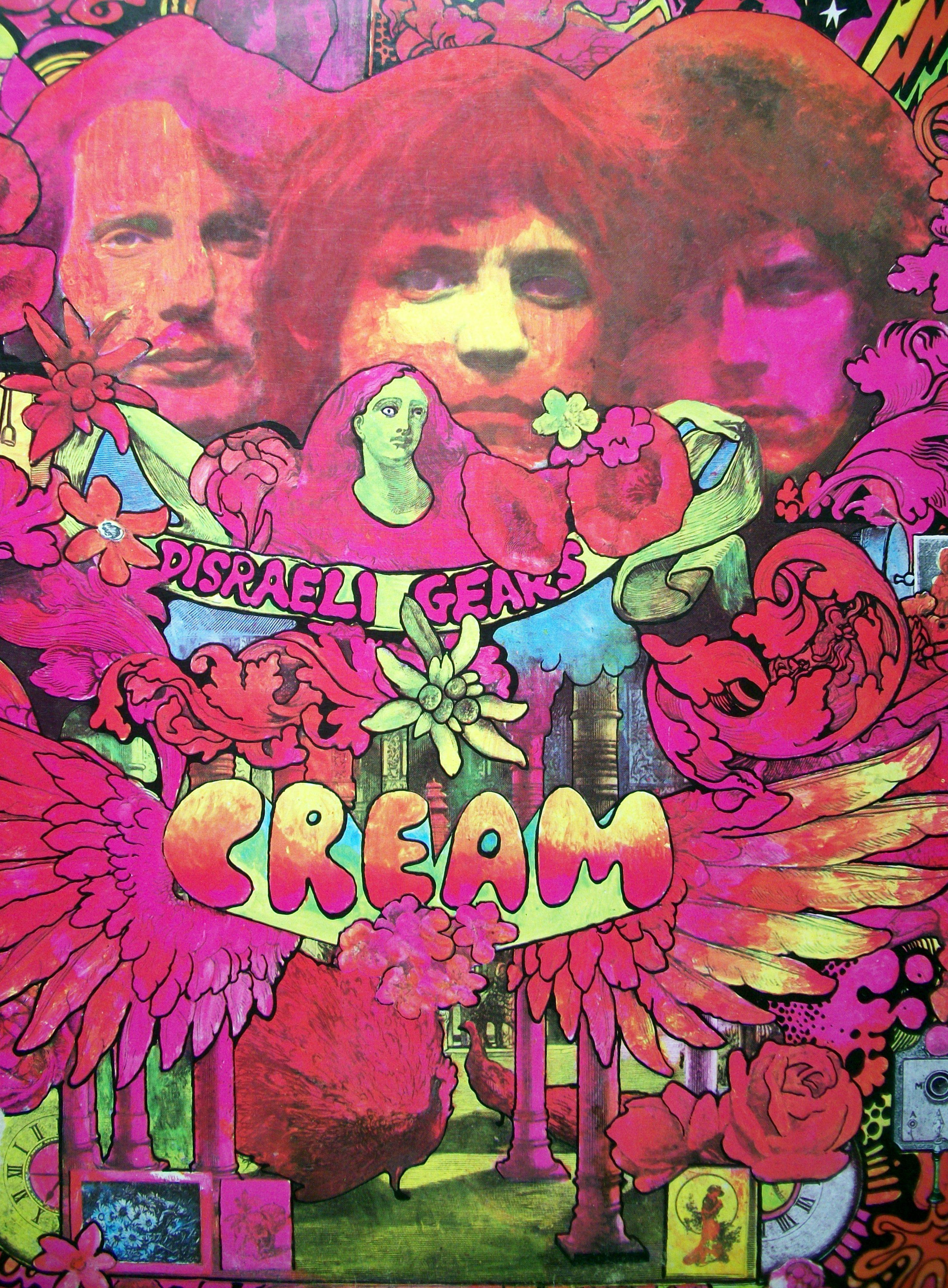 Sinister Vinyl Collection Cream Disraeli Gears 1967