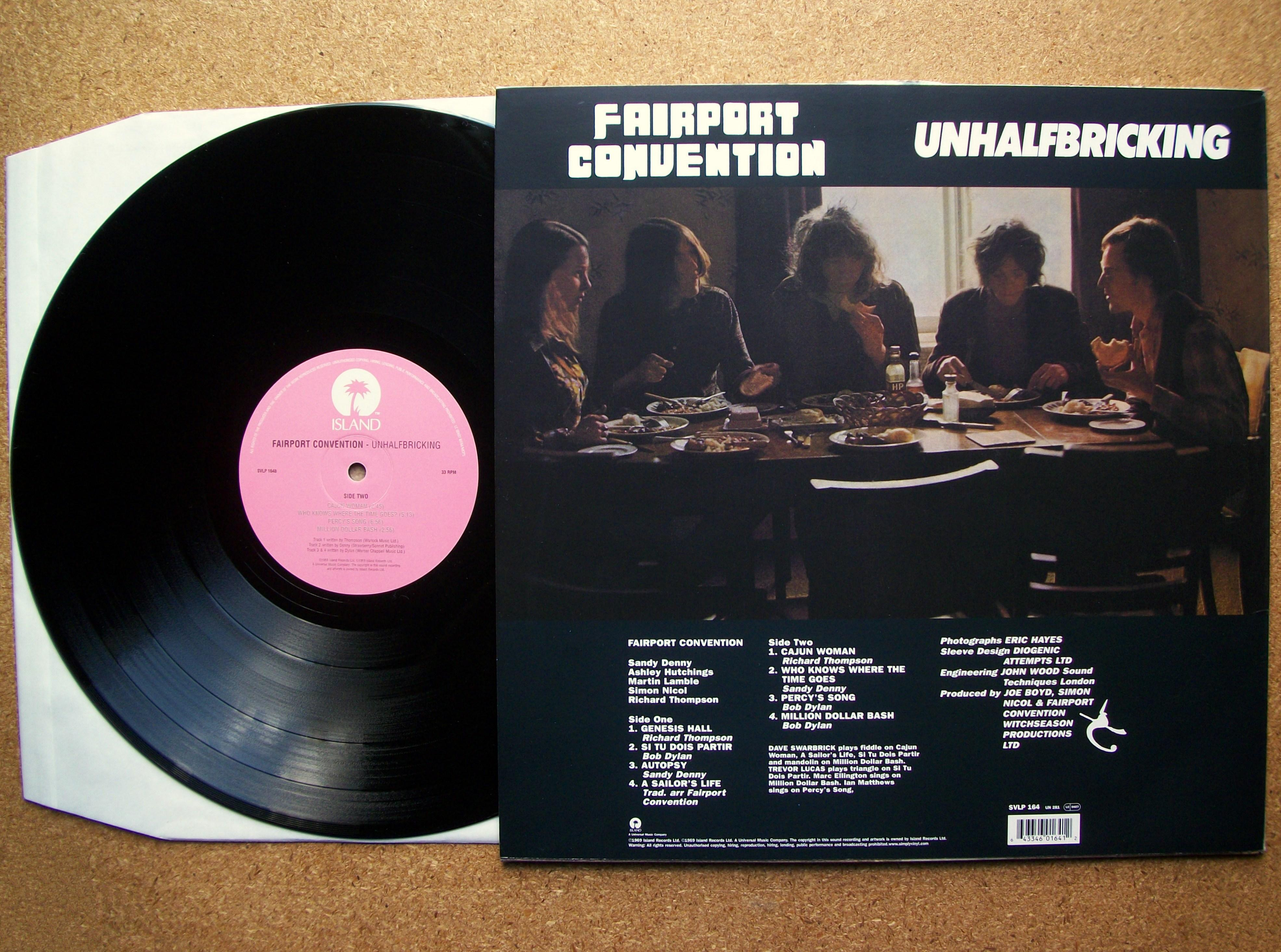 Sinister Vinyl Collection Fairport Convention