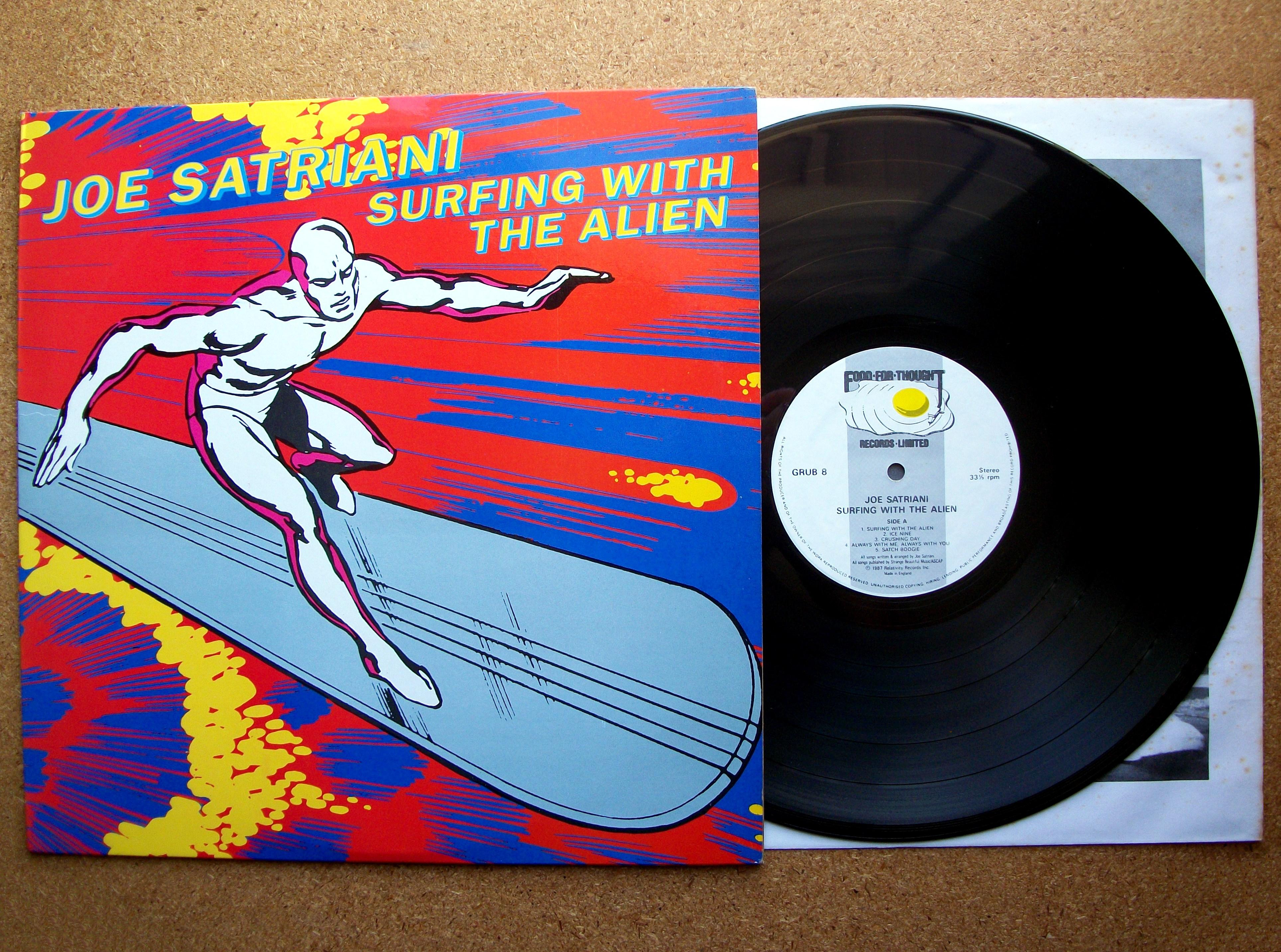 Sinister Vinyl Collection Joe Satriani Surfing With The