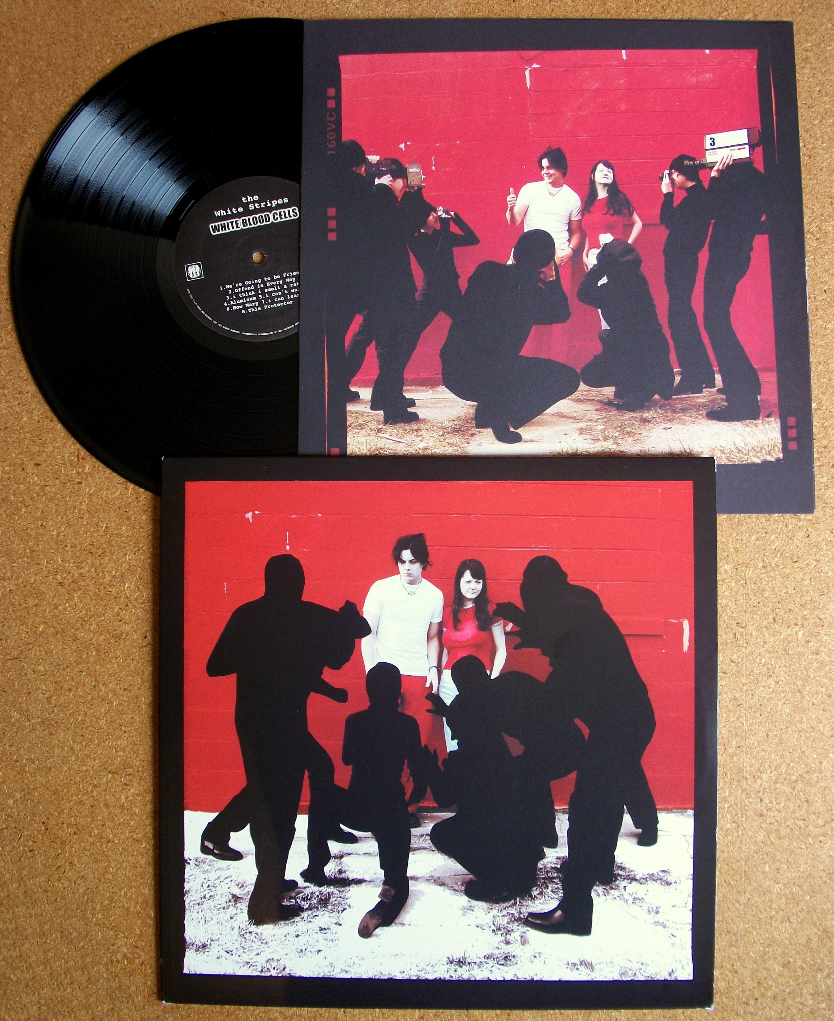 Sinister Vinyl Collection The White Stripes White Blood