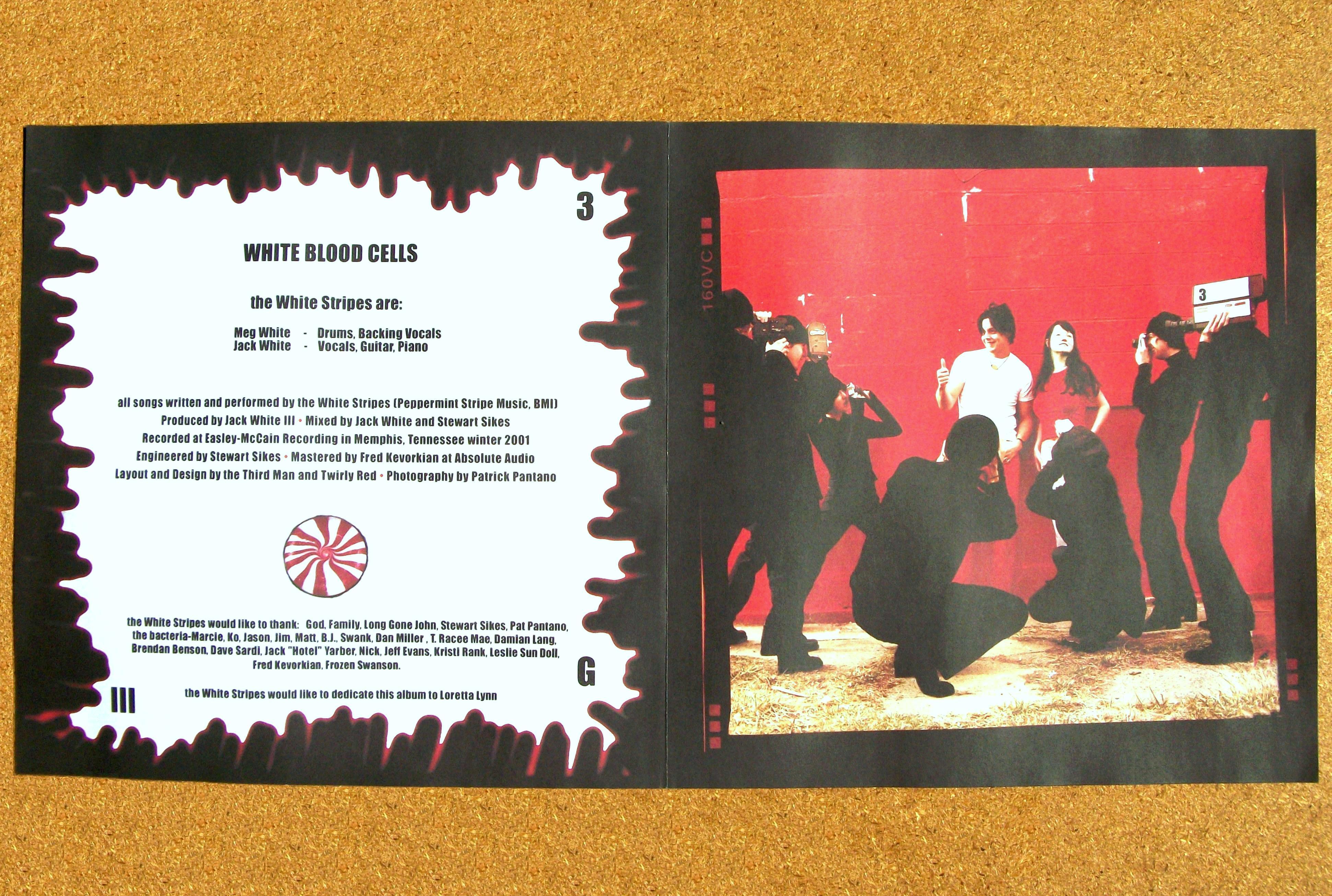 Sinister Vinyl Collection The White Stripes White Blood