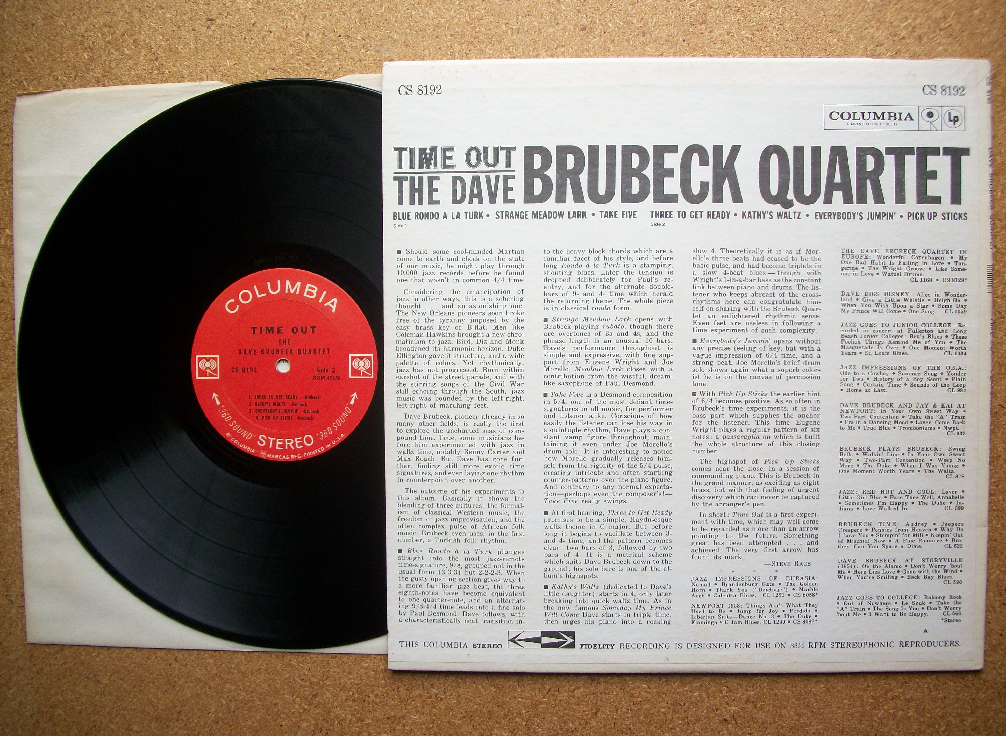 performance style of dave brubeck Masterworks chorale - the light in the wilderness performance / program notes concert: may 16, 2014 in 1967 jazz great dave brubeck broke up his famous quartet to fulfill his ambitions as a composer of music for the concert hall.
