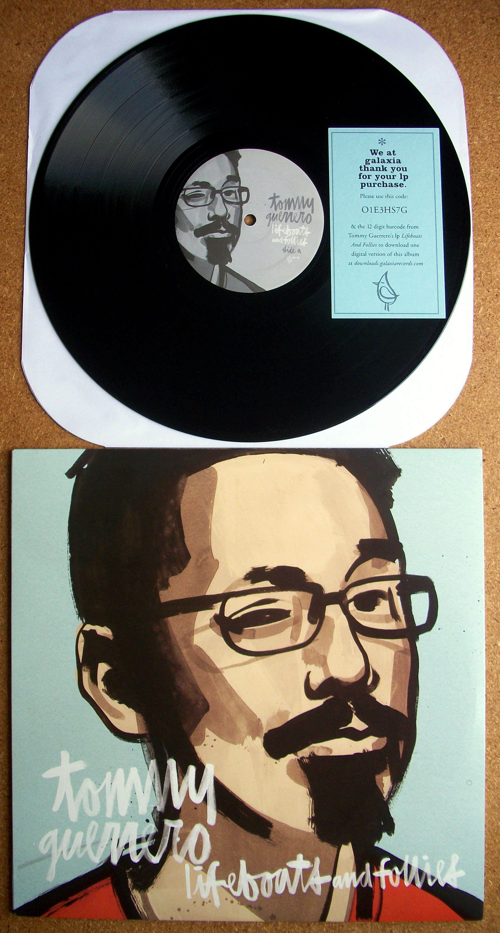 Sinister Vinyl Collection Tommy Guerrero Lifeboats And